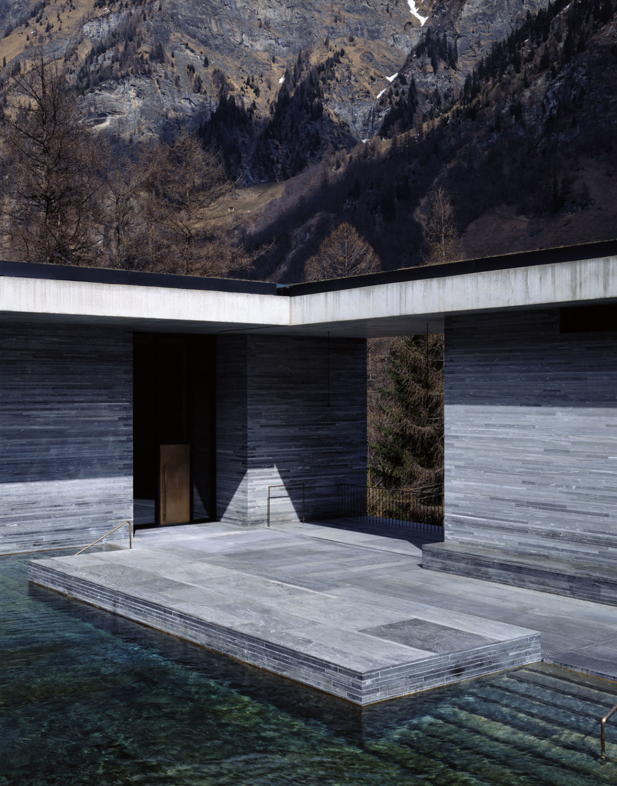 Peter Zumthor H 233 L 232 Ne Binet 183 Therme Vals 183 Divisare