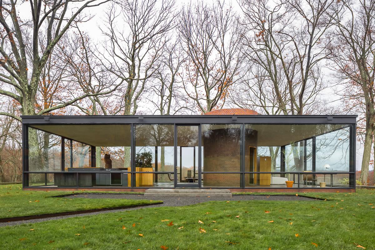 Philip Johnson Sim 243 N Garc 237 A 183 Glass House 183 Divisare