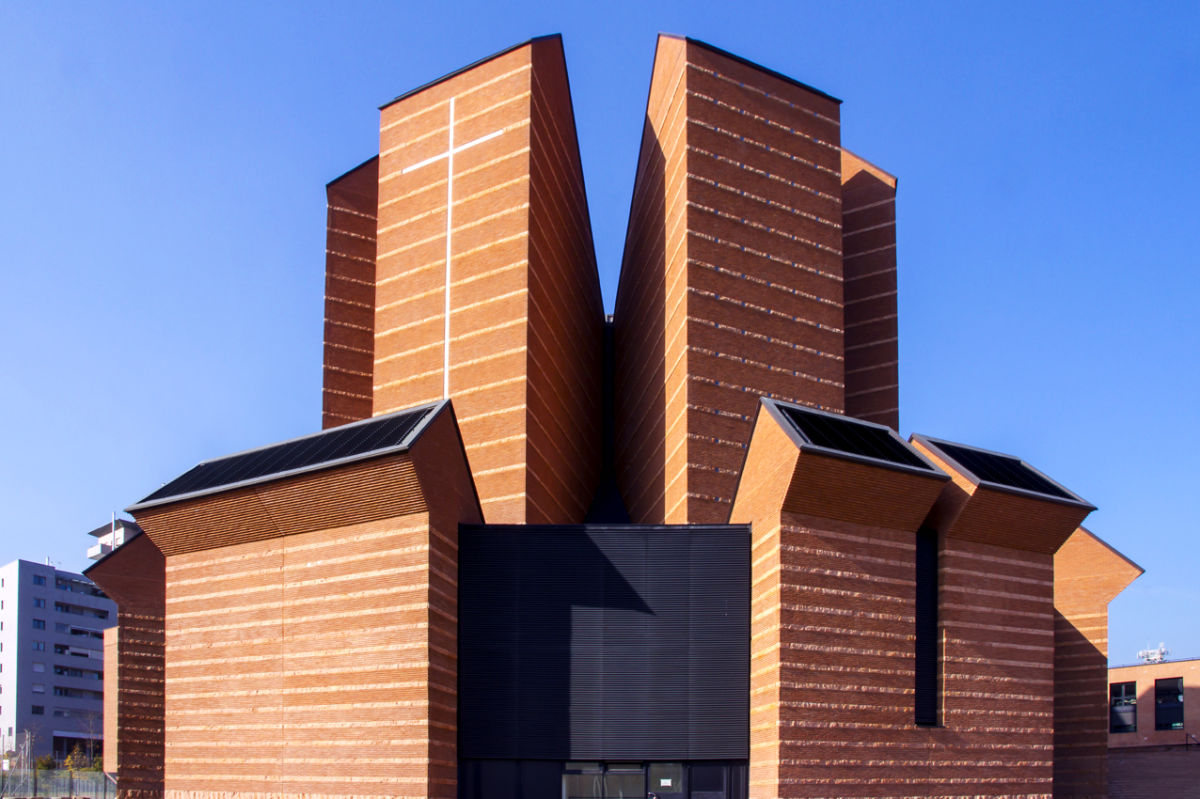 Mario Botta Angelo Luisi Montenegro 183 Church Of The Holy
