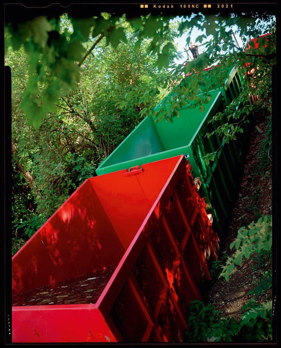 100Landschaftsarchitektur · Escalier d\'eau · Divisare