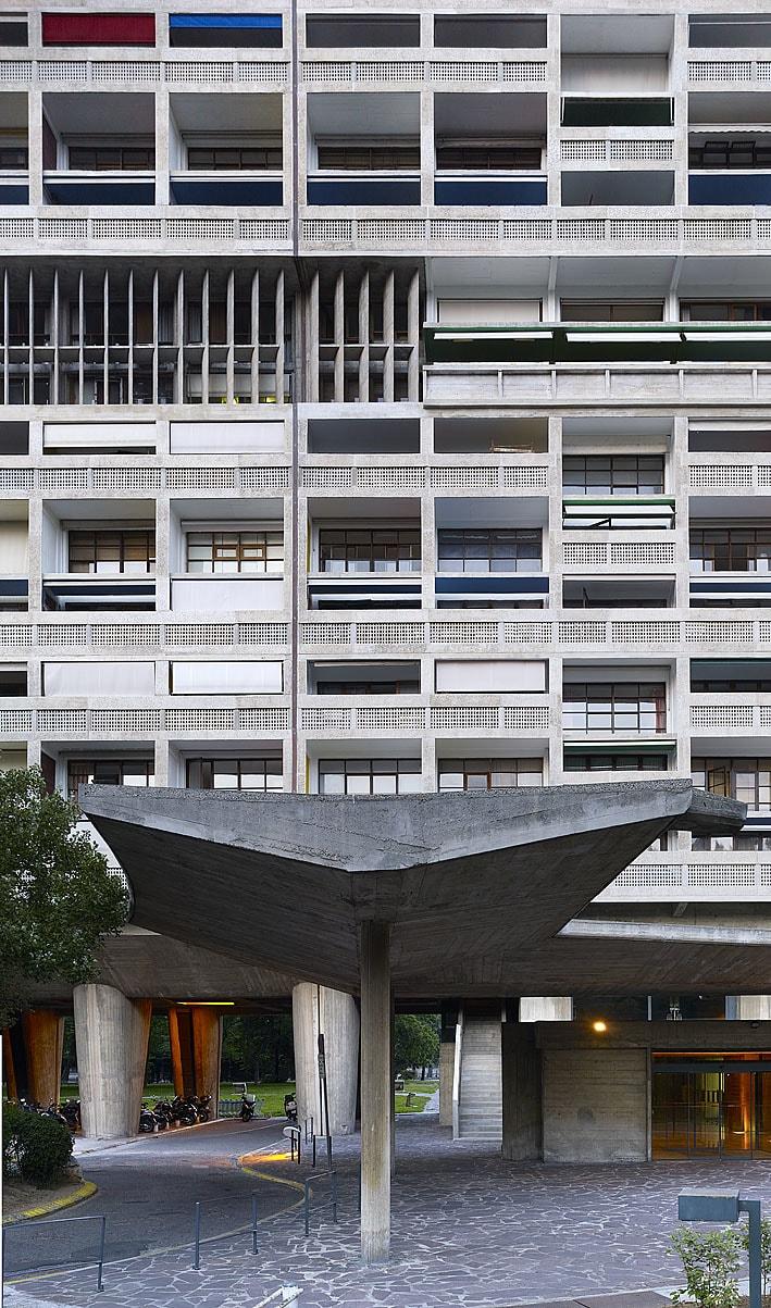 Le Corbusier Unite D Habitation le corbusier, cemal emden · unité d'habitation, marseille