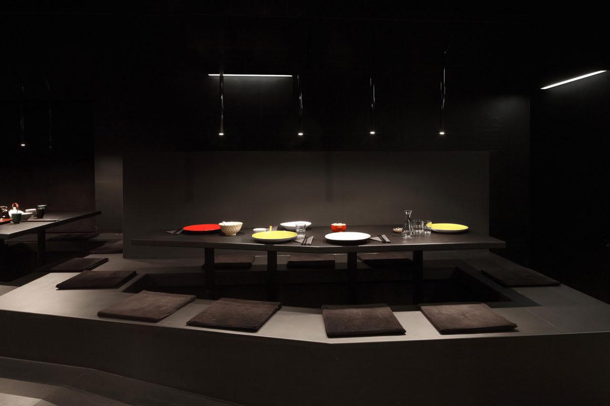 Raumspielkunst Aqui Architekturfotografie Noir Cuisine Divisare
