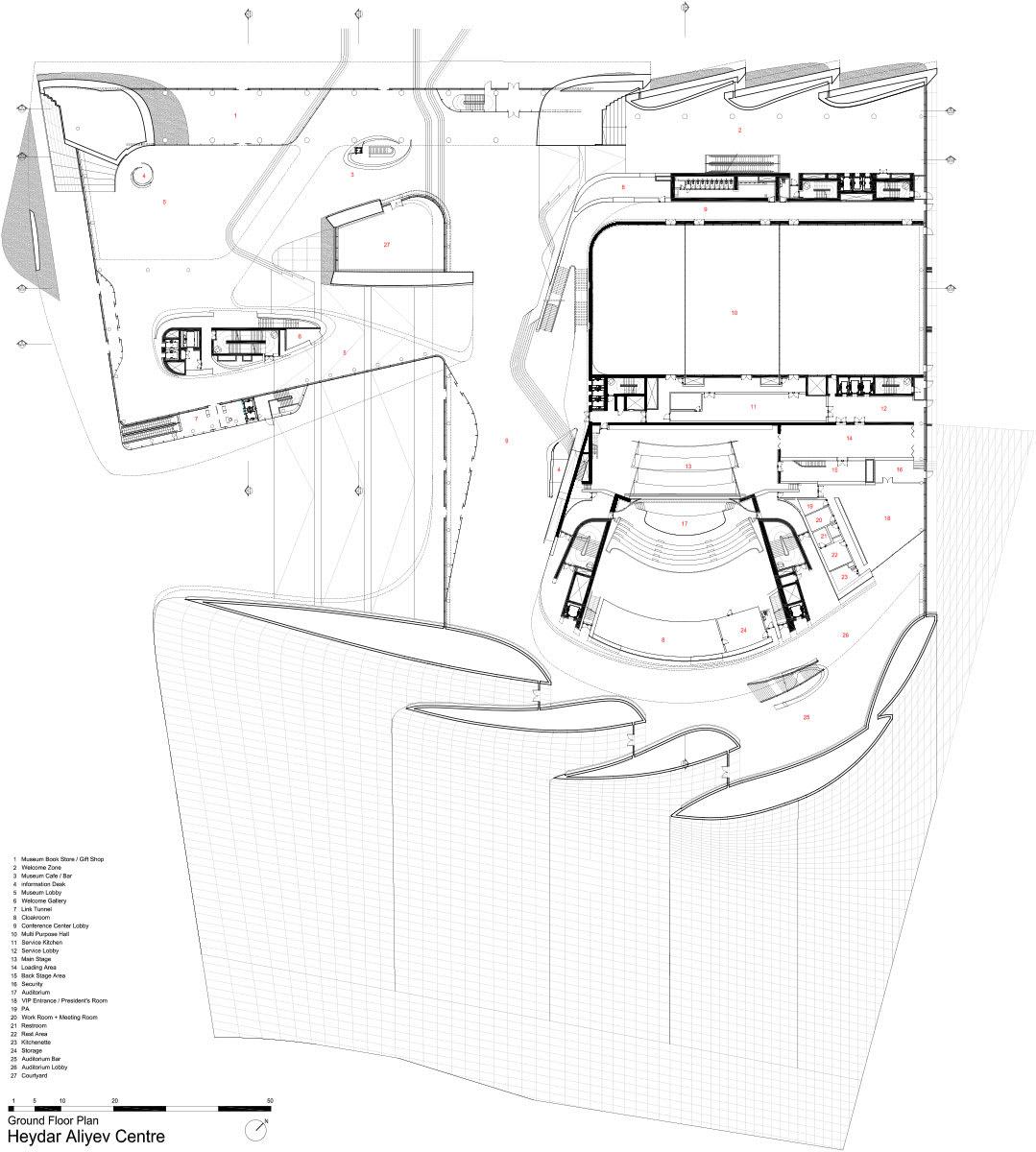 Zaha Hadid Architects Helene Binet Hufton Crow Heydar Aliyev Center Divisare
