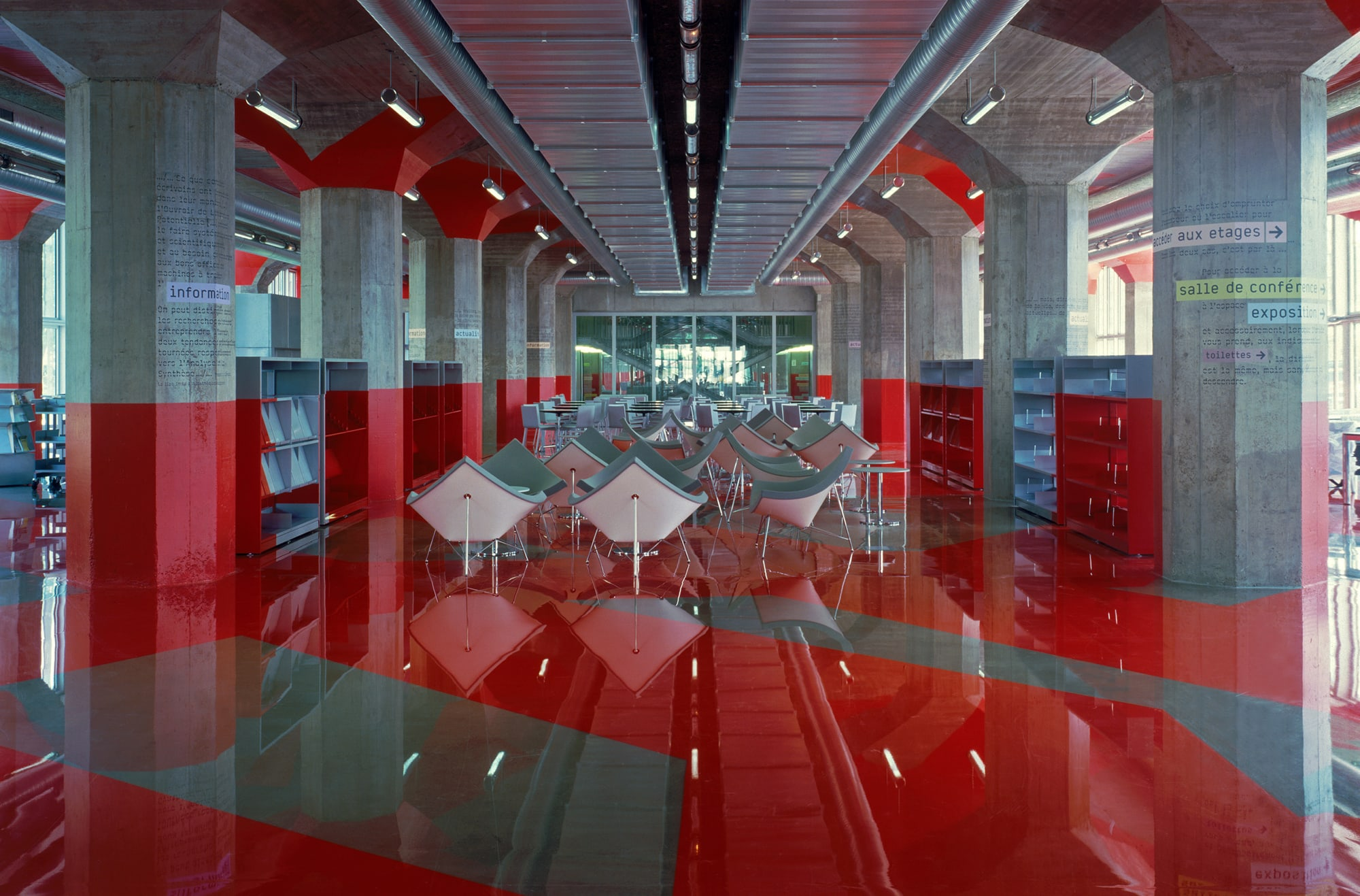 Ibos Vitart 183 Andre Malraux Library 183 Divisare