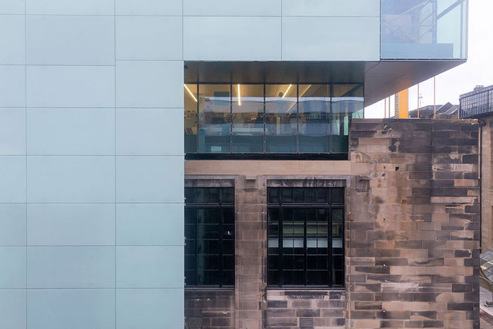 Steven Holl Architects Iwan Baan Seona Reid Building Glasgow School Of Art Divisare