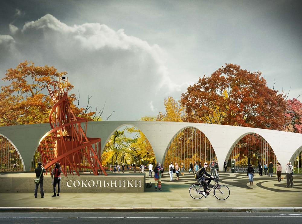 Lola Landscape Architects Taller Architects Land Civilization Compositions Sokolniki Park Divisare