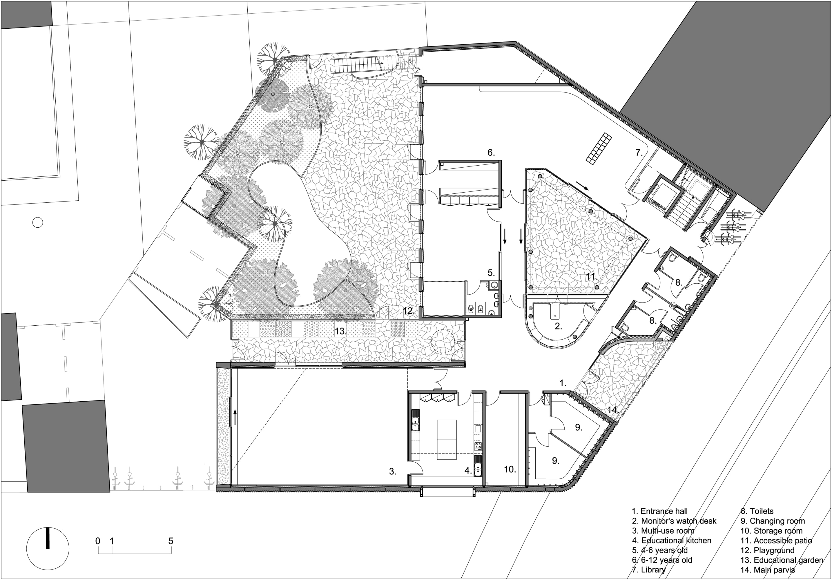 Heintz Kehr Architects Social And Cultural Centre In