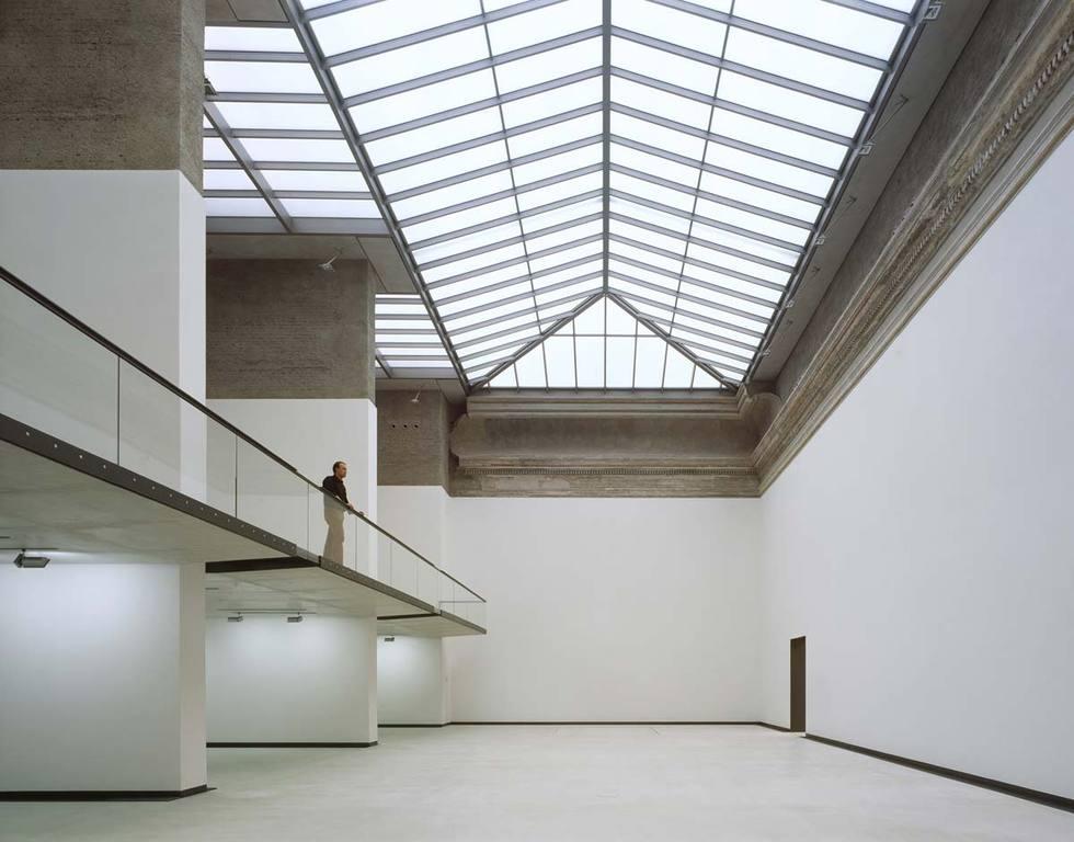 Auer Weber Exhibition Building Brühlsche Terrasse Divisare