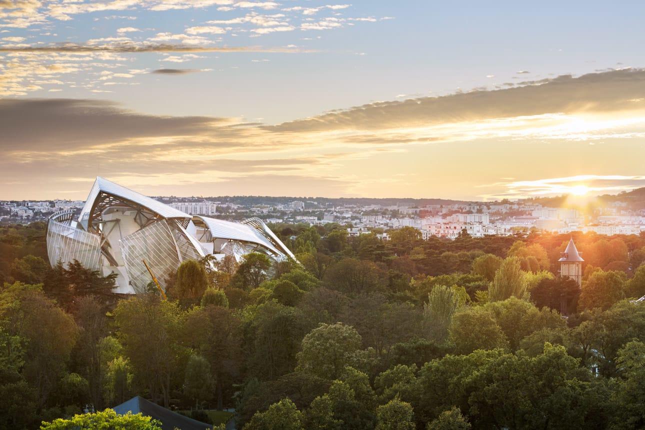 Frank Gehry Sergio Grazia Louis Vuitton Foundation Divisare