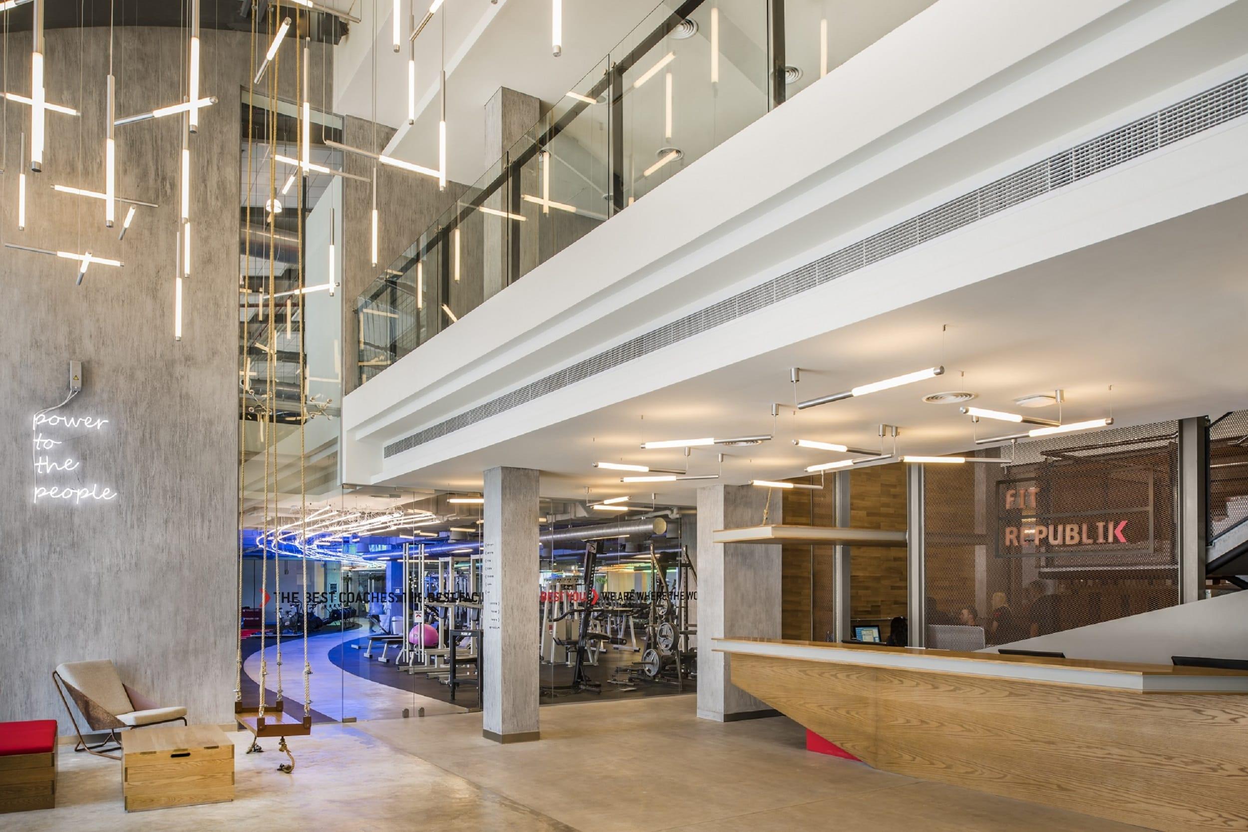 Aedas Aedas Interiors Designed Fit Republik In Dubai Opens Its Doors Divisare