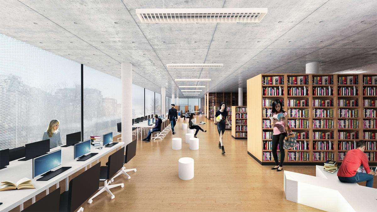 Architects For Urbanity Varna Regional Library Pencho