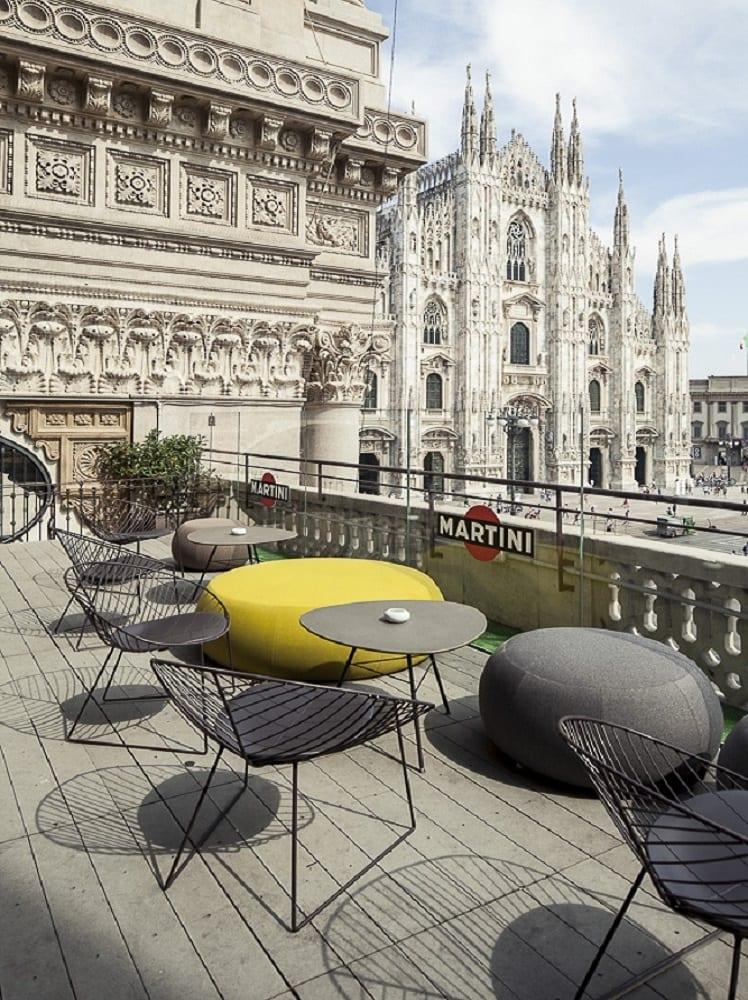 Massimo Magaldi Terrazza Duomo 21 Restaurant Lounge
