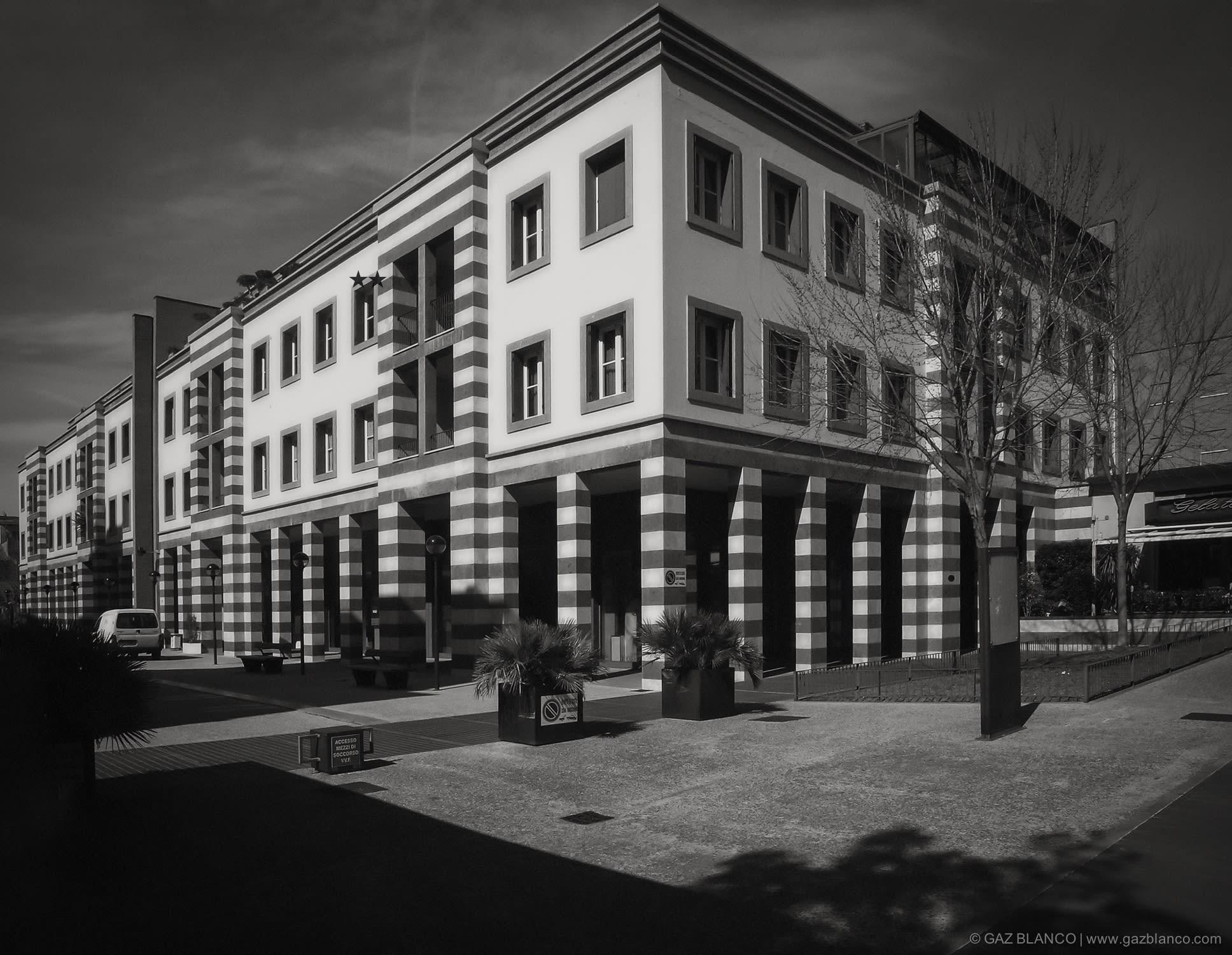 Aldo Rossi Gaz Blanco Ph Renovation Project Of Ex Kursaal