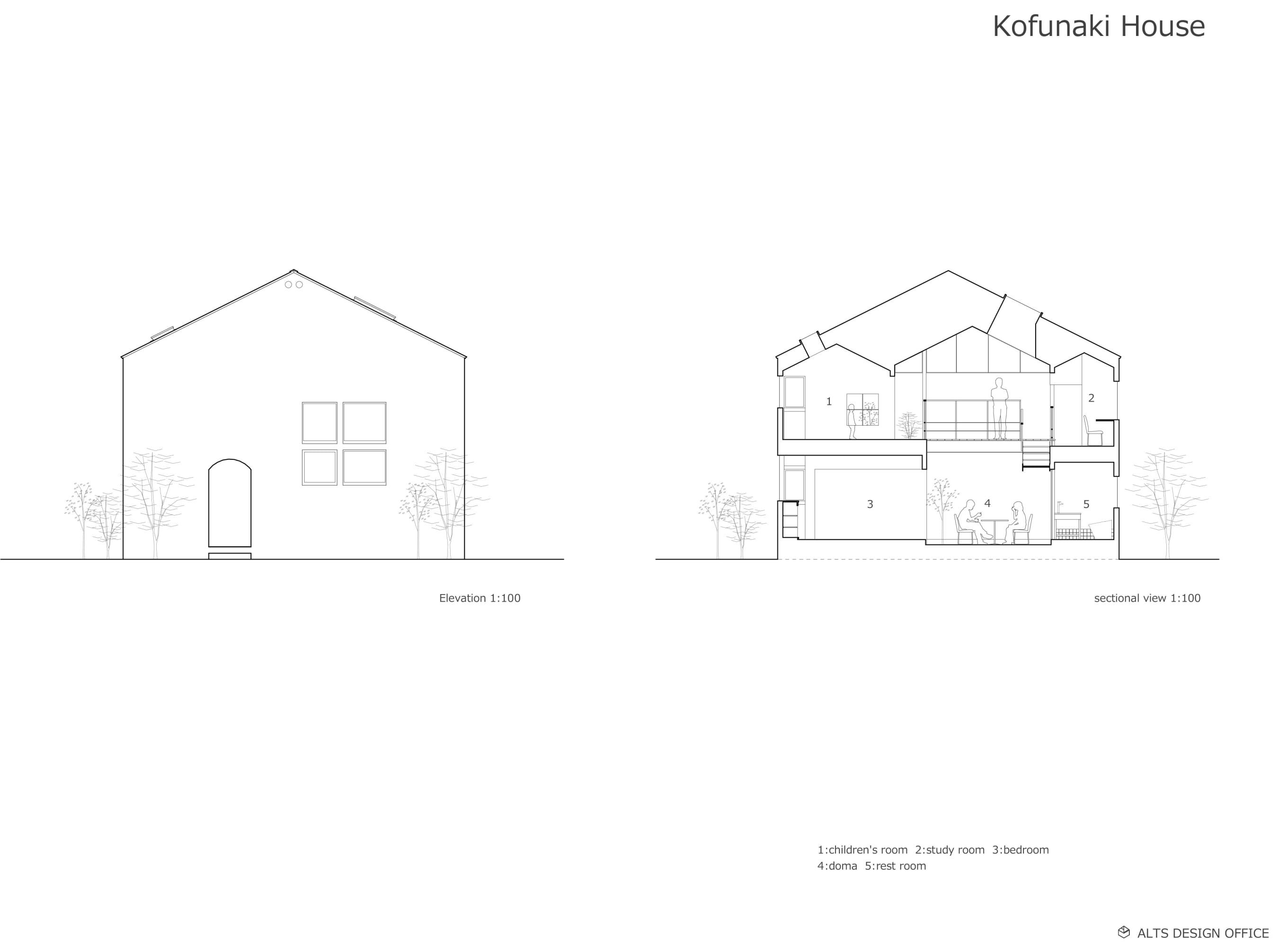 Alts Design Office Kofunaki House Divisare