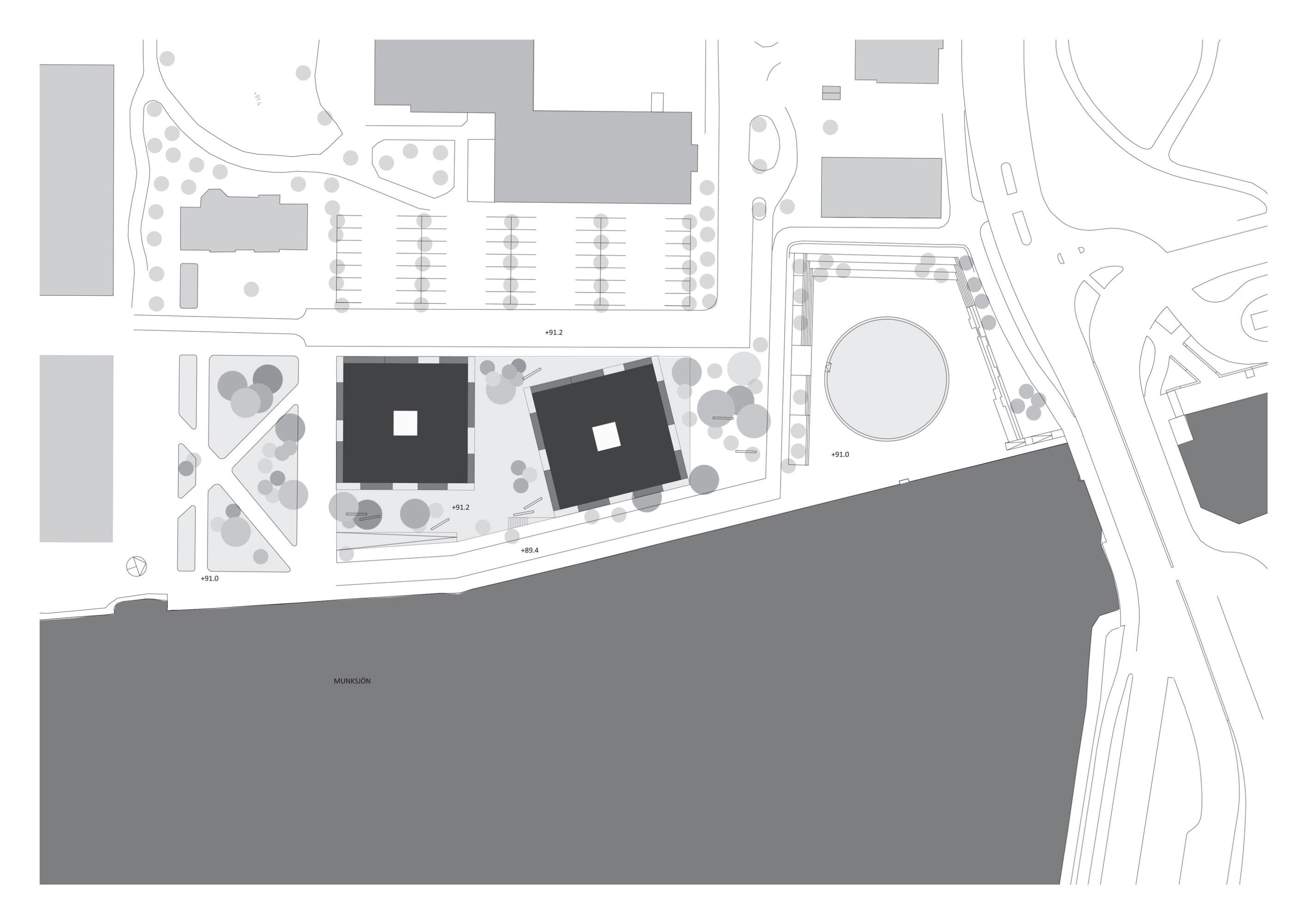 Tham & Videg¥rd …ke E son Lindman · Västra Kajen Housing