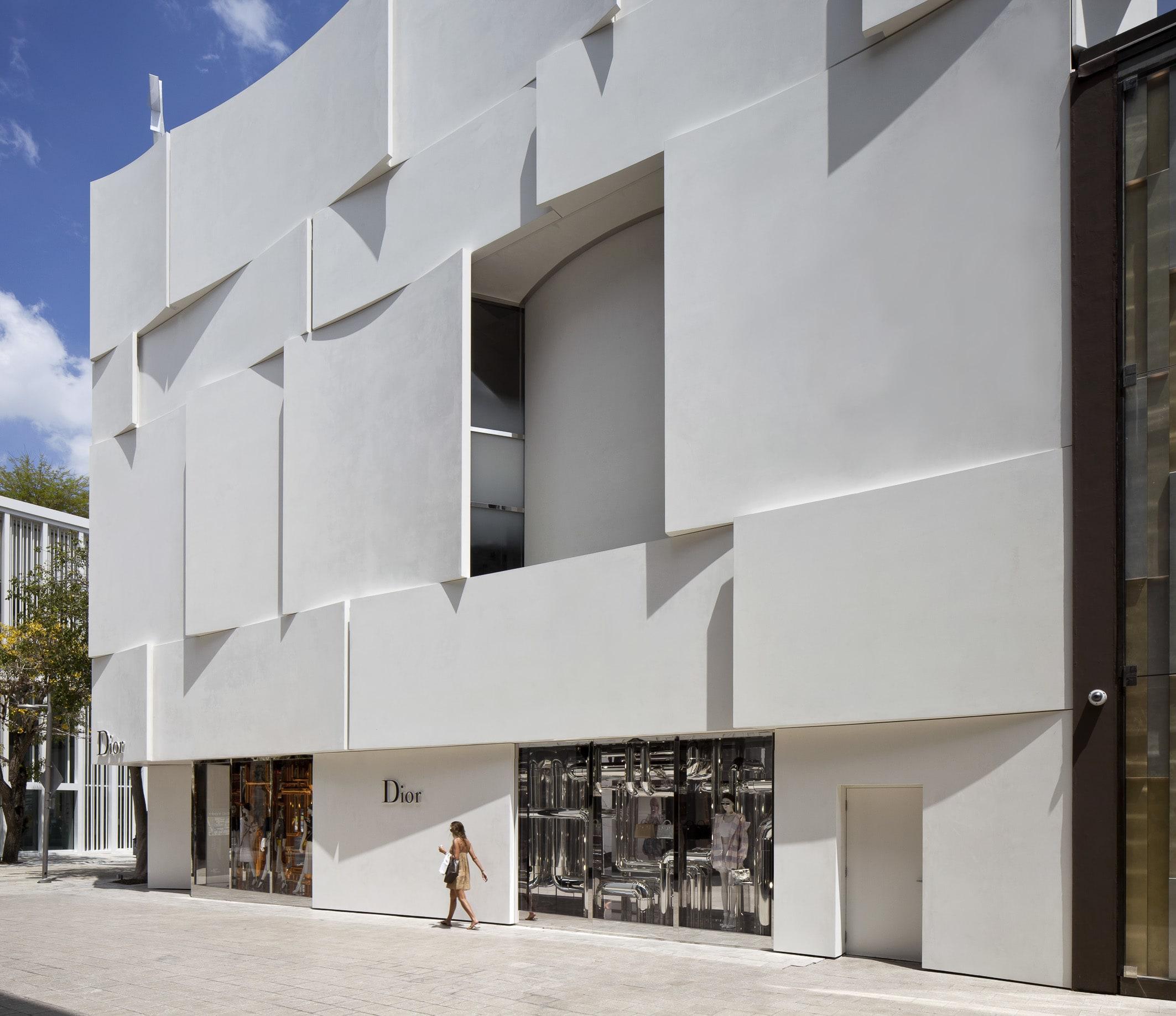 Barbaritobancel Architectes Peter Marino Architect Alessandra Chemollo Dior Miami Facade Divisare
