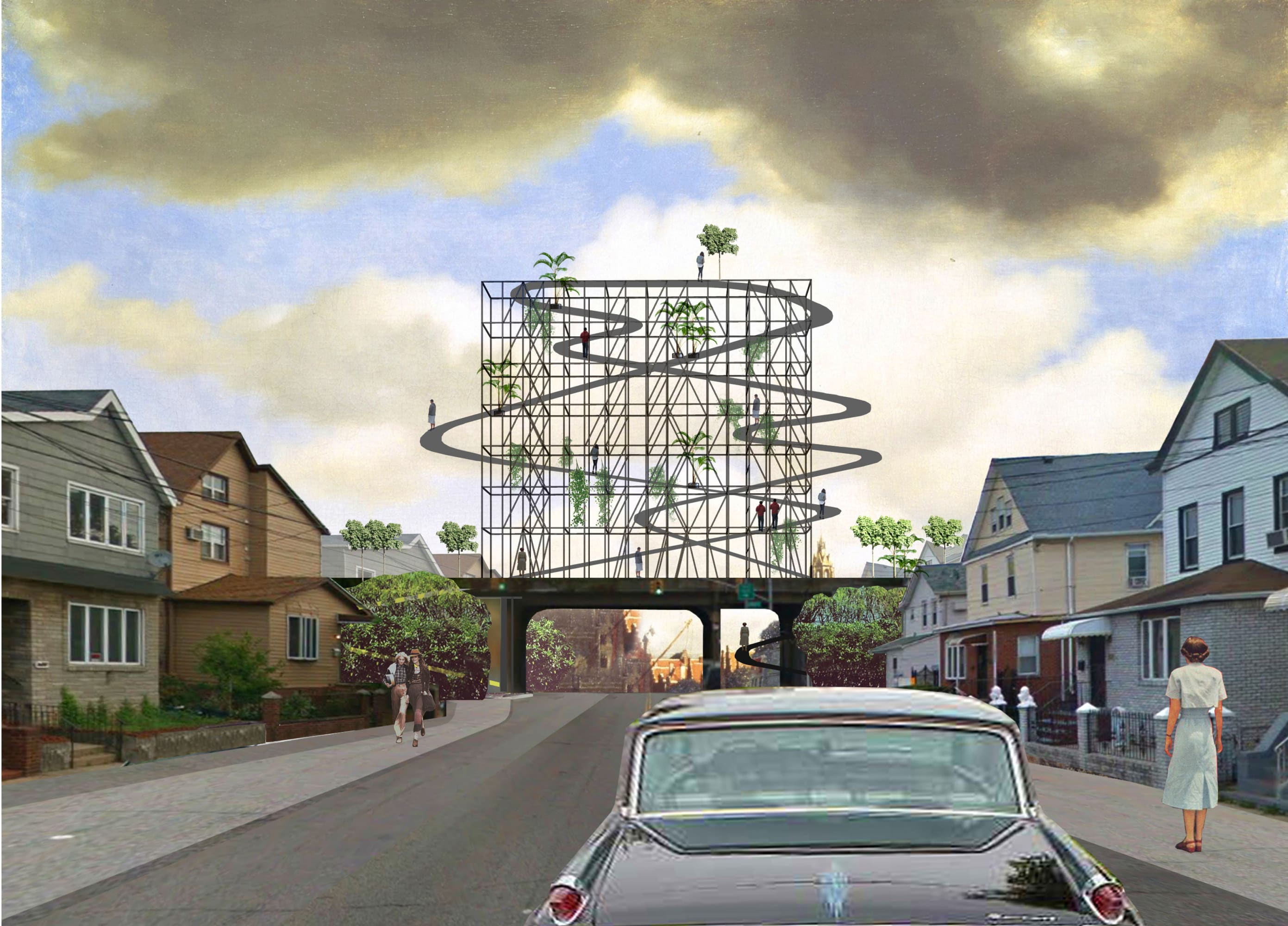 Kosmos Architects Queensway Bilboards Divisare