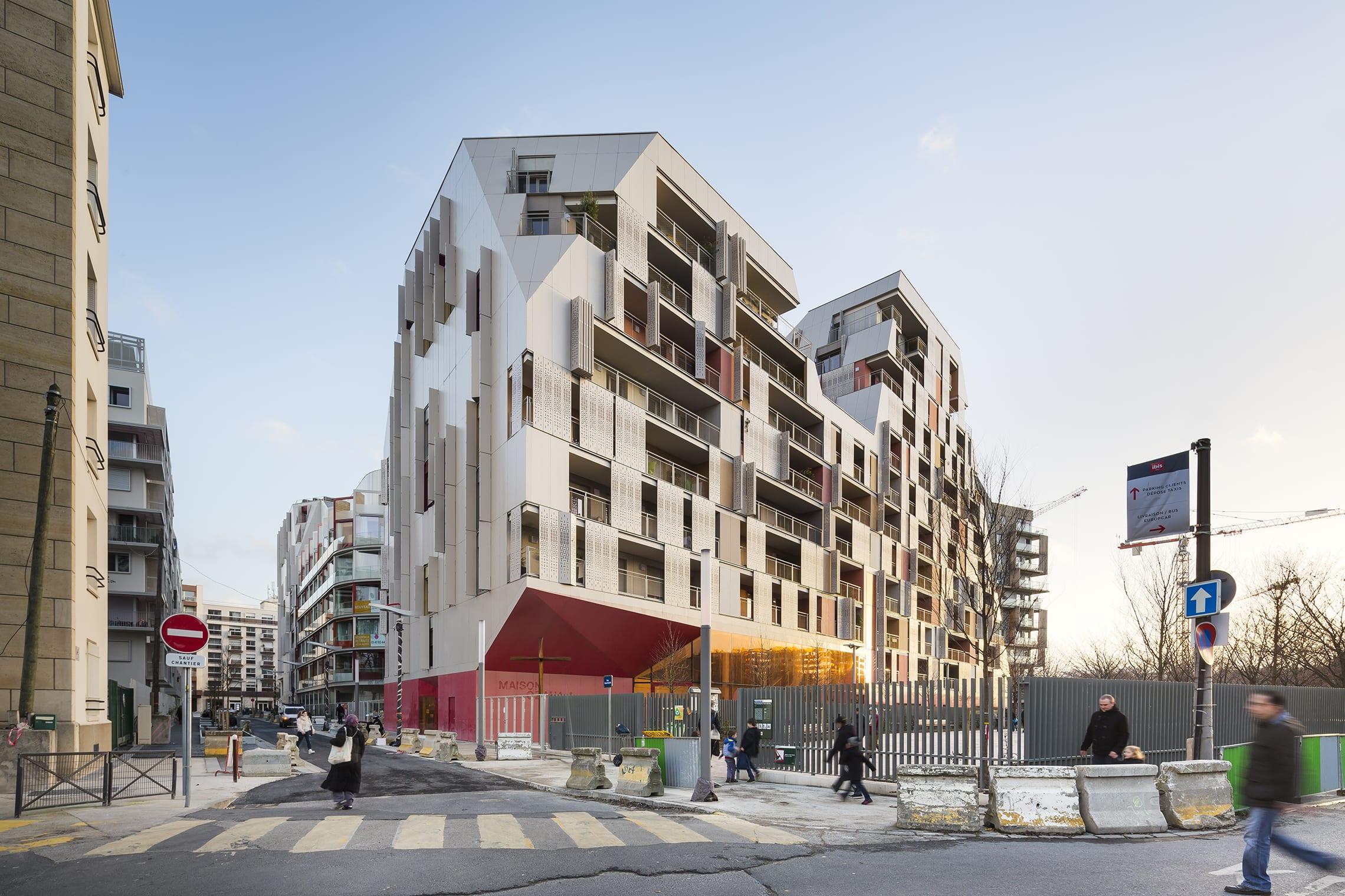 Maison Du Puzzle Paris jean bocabeille architecte, sergio grazia, frédéric delangle