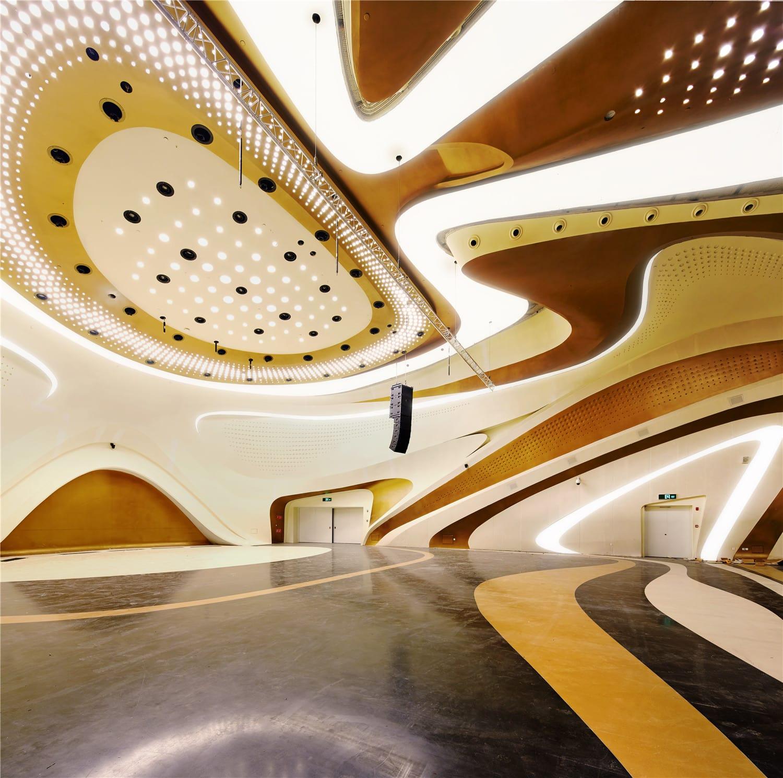 Zaha Hadid Architects Lighting Design Shu
