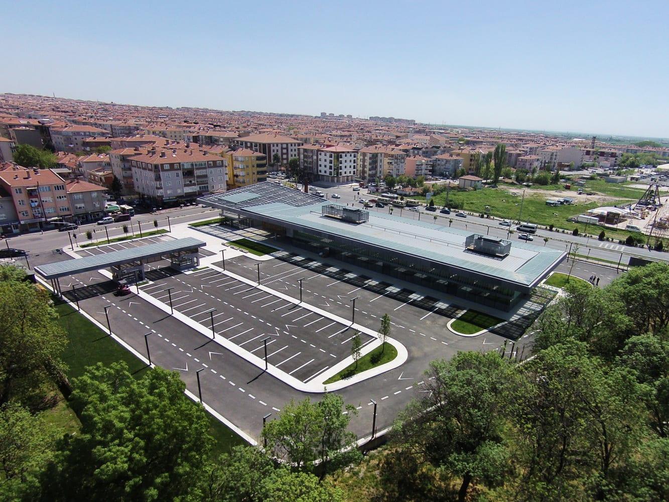 Collective Architects Luleburgaz Bus Station Divisare