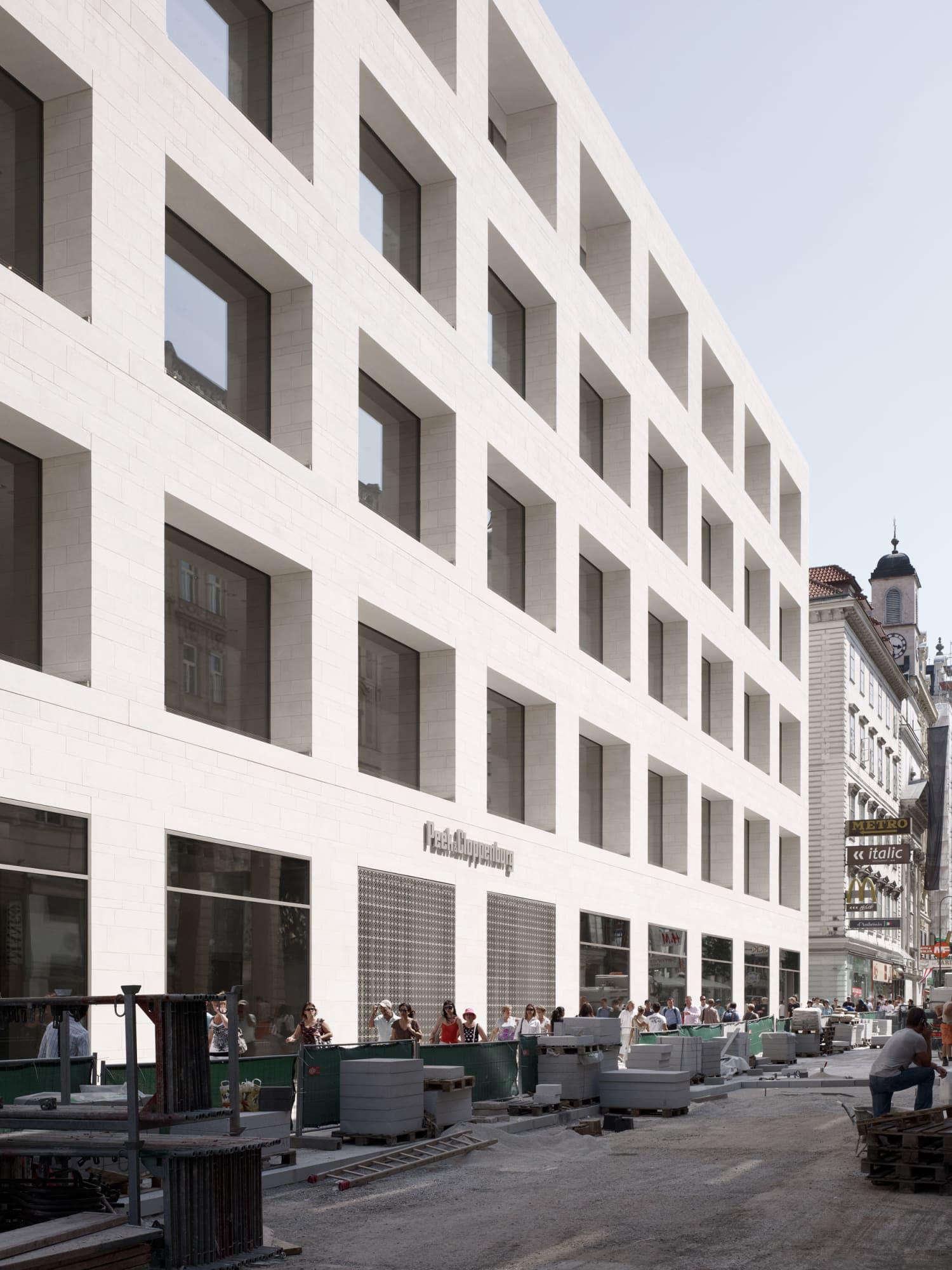 David Chipperfield Architects, hiepler, brunier, · Peek