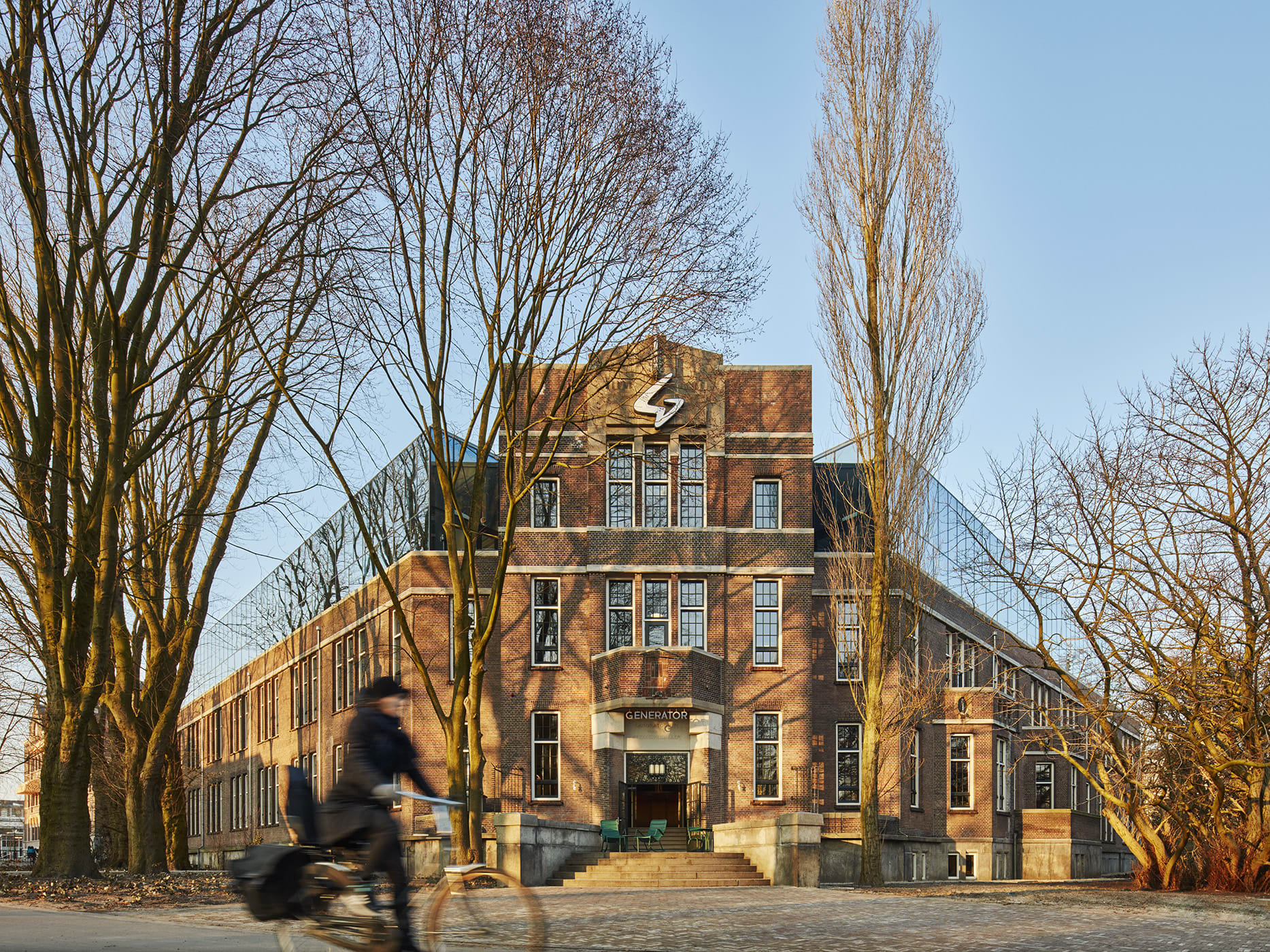 DesignAgency, Nikolas Koenig · Generator Amsterdam · Divisare