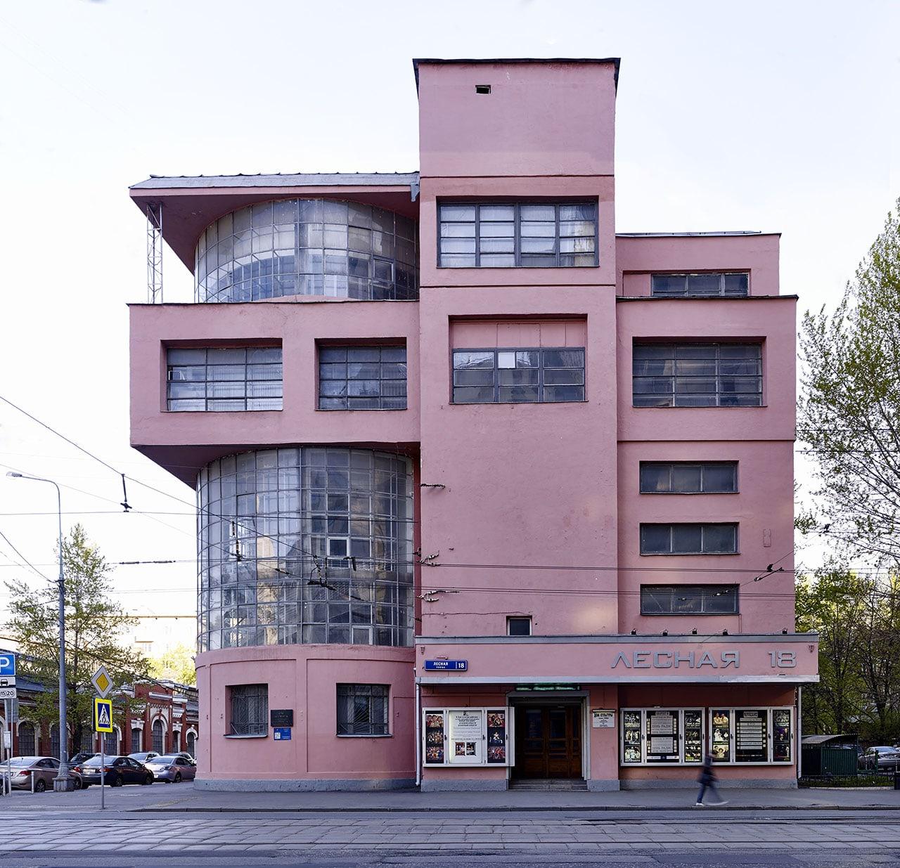 картинки домов конструктивизм этот