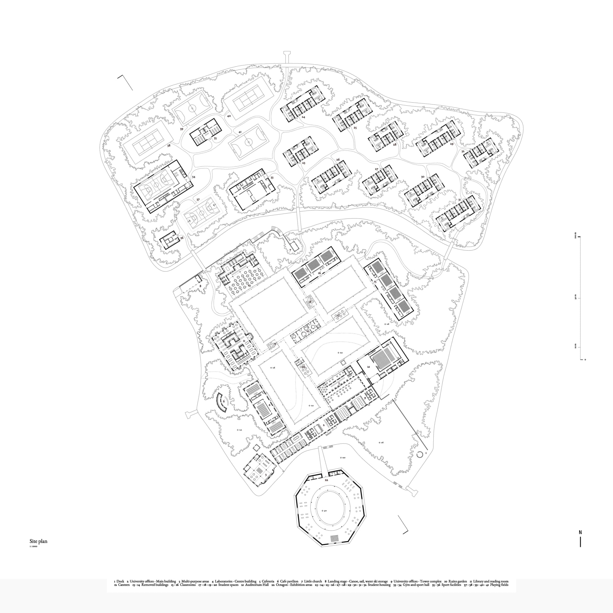 Lapo Ruffi Architetti / LRA, Vanessa Giandonati · University Island