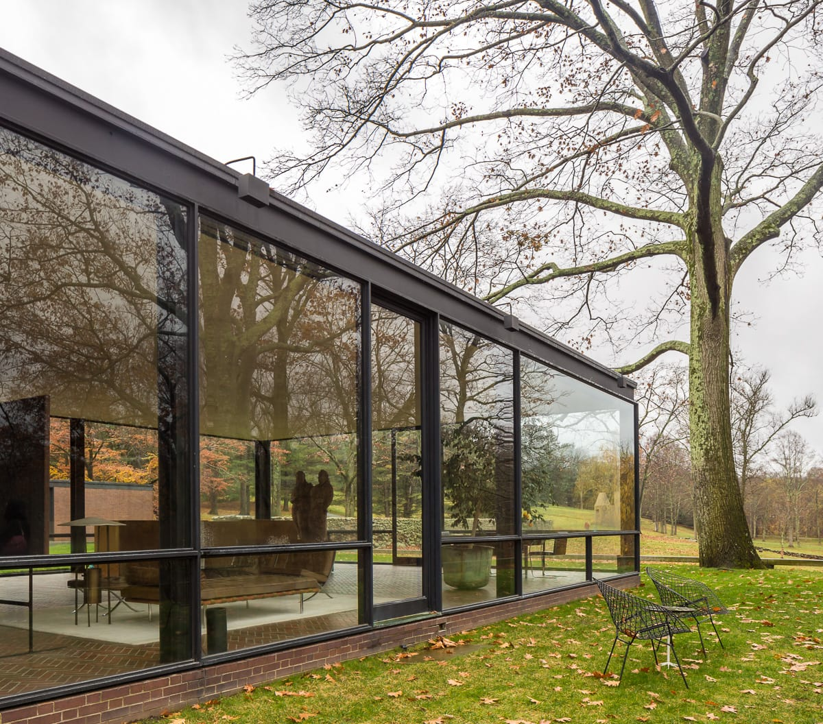 Philip Johnson Simon Garcia Glass House Divisare