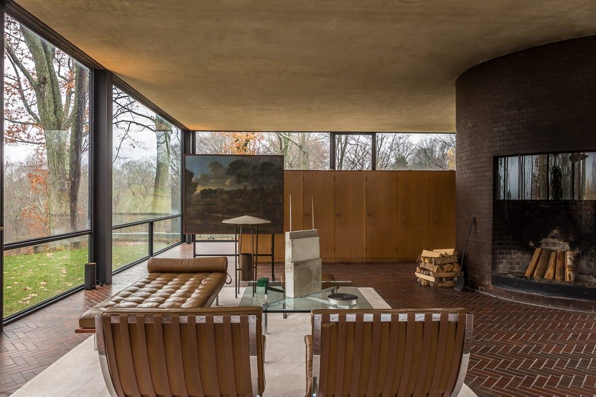 Philip Johnson Glass House philip johnson, simón garcía · glass house · divisare