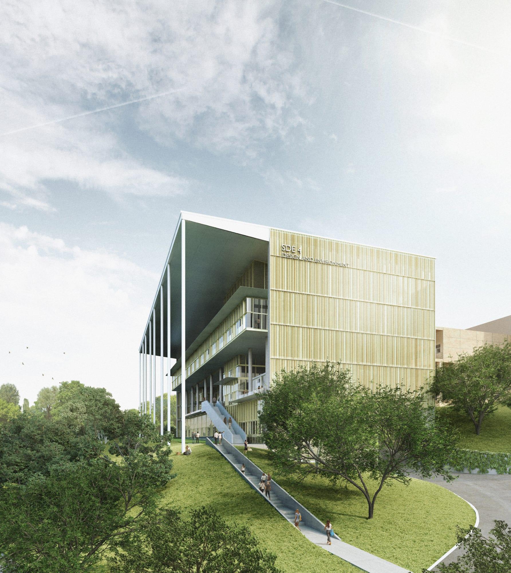 Serie Architects New School Of Design Environment National University Of Singapore Divisare,Two Car Garage Interior Design Ideas