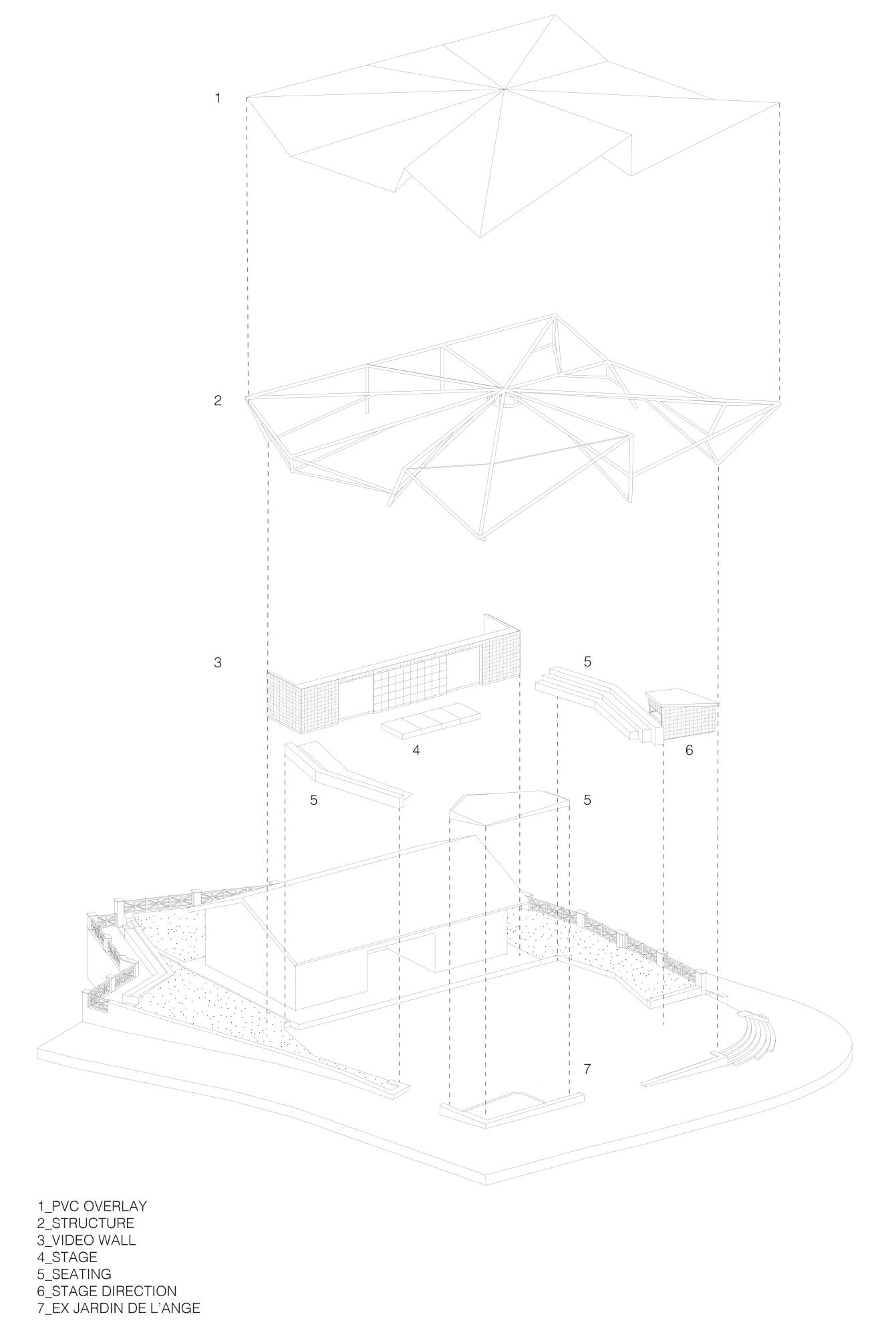 EVASTOMPER studio, Davide Galli · JARDIN DE L'ANGE · Divisare