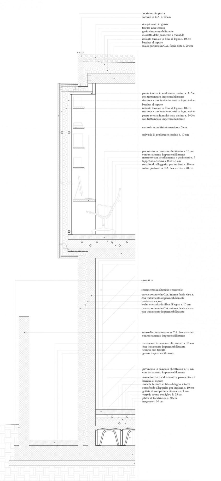 Le Fibre Del Legno luca de stasio, spazioarc · villa del custode · divisare
