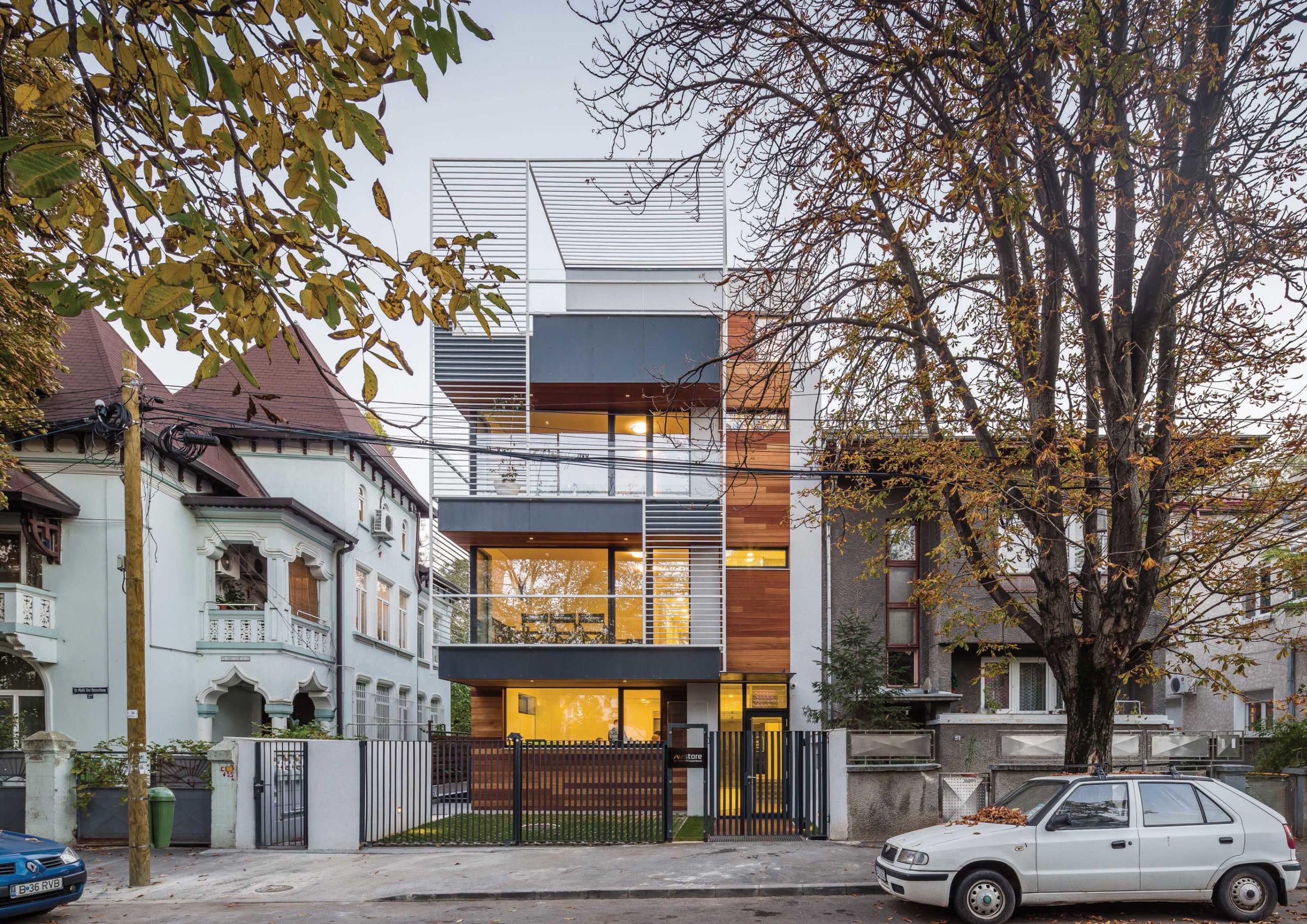 Melon Design Studio Residential Building Demosthene Divisare
