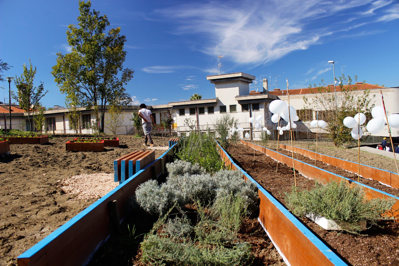 Atelier Delle Verdure Giardino Scolastico Comunitario