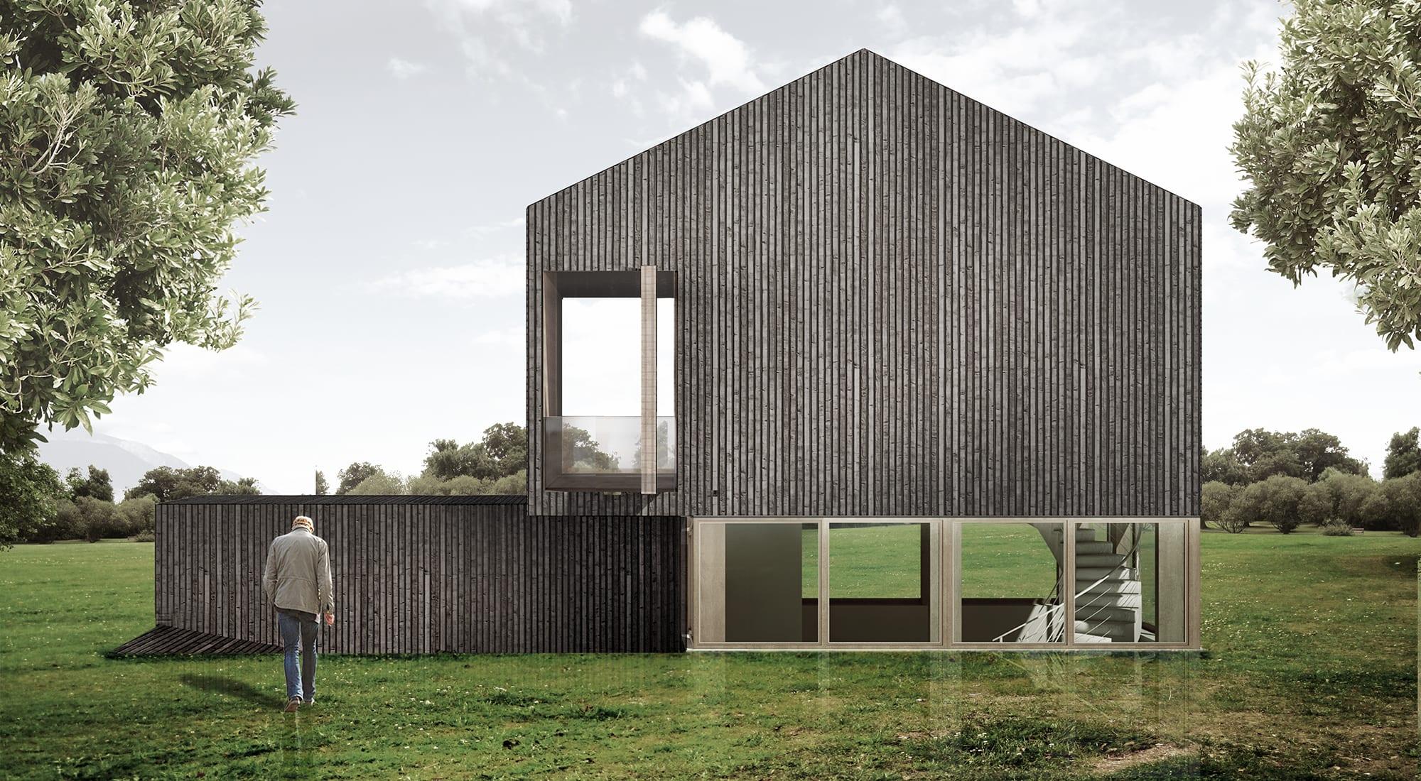 Oks Architetti Luigi Petrillo Guardian S House Divisare