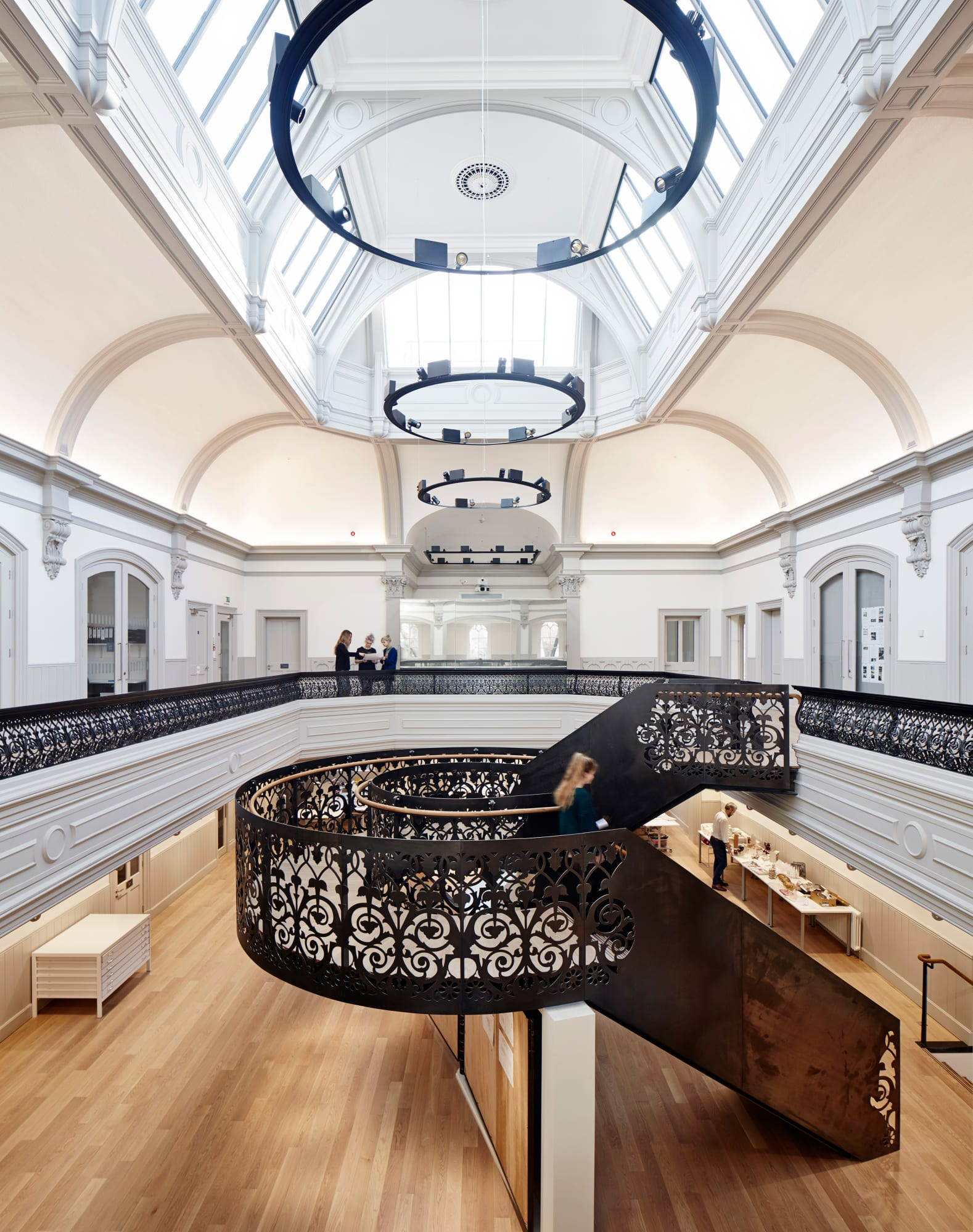 Hudson Architects, Joakim Borén · Norwich University of the Arts School of  Architecture · Divisare