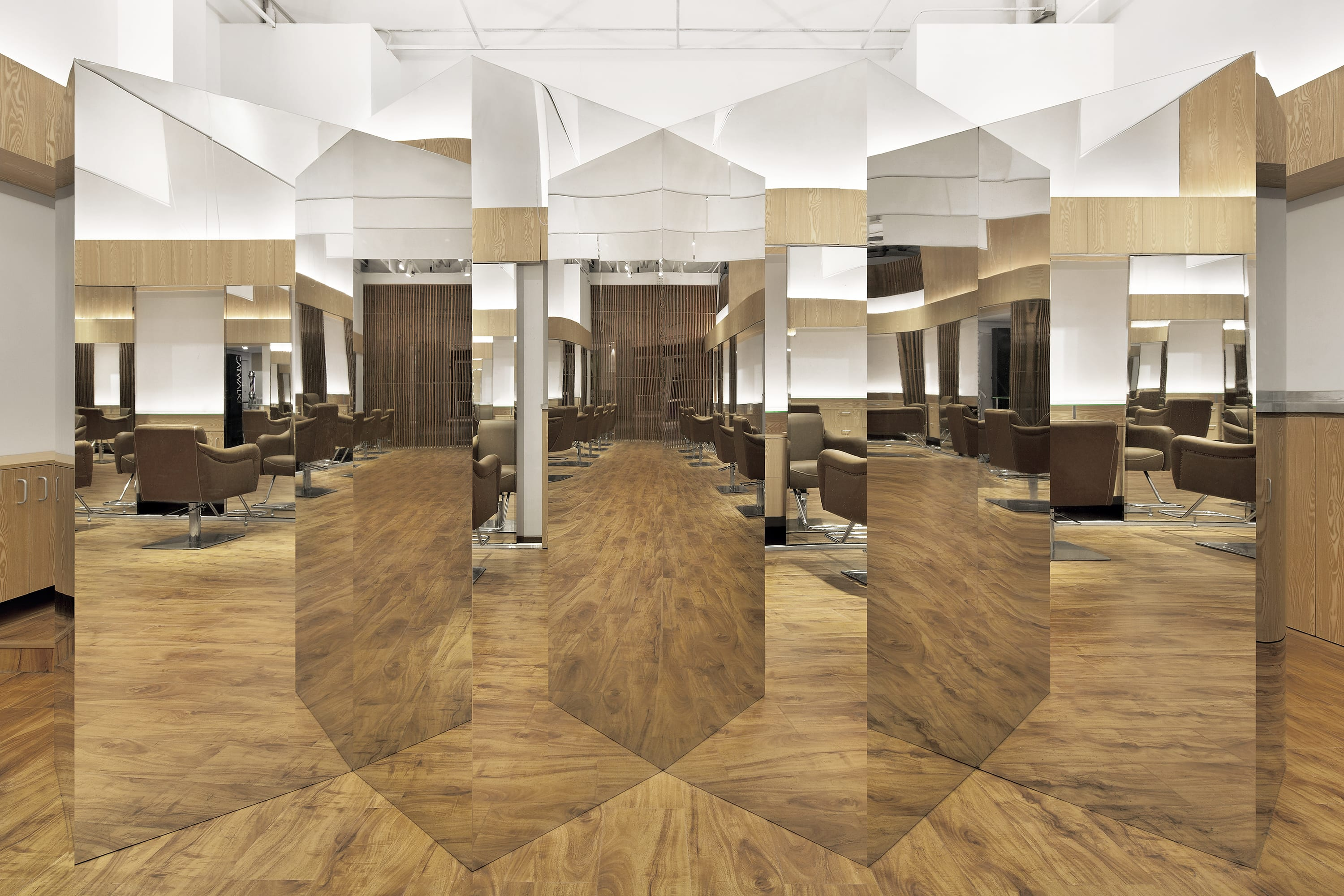 "C+ Architects · ""Hair Focus"" Hair Salon · Divisare"