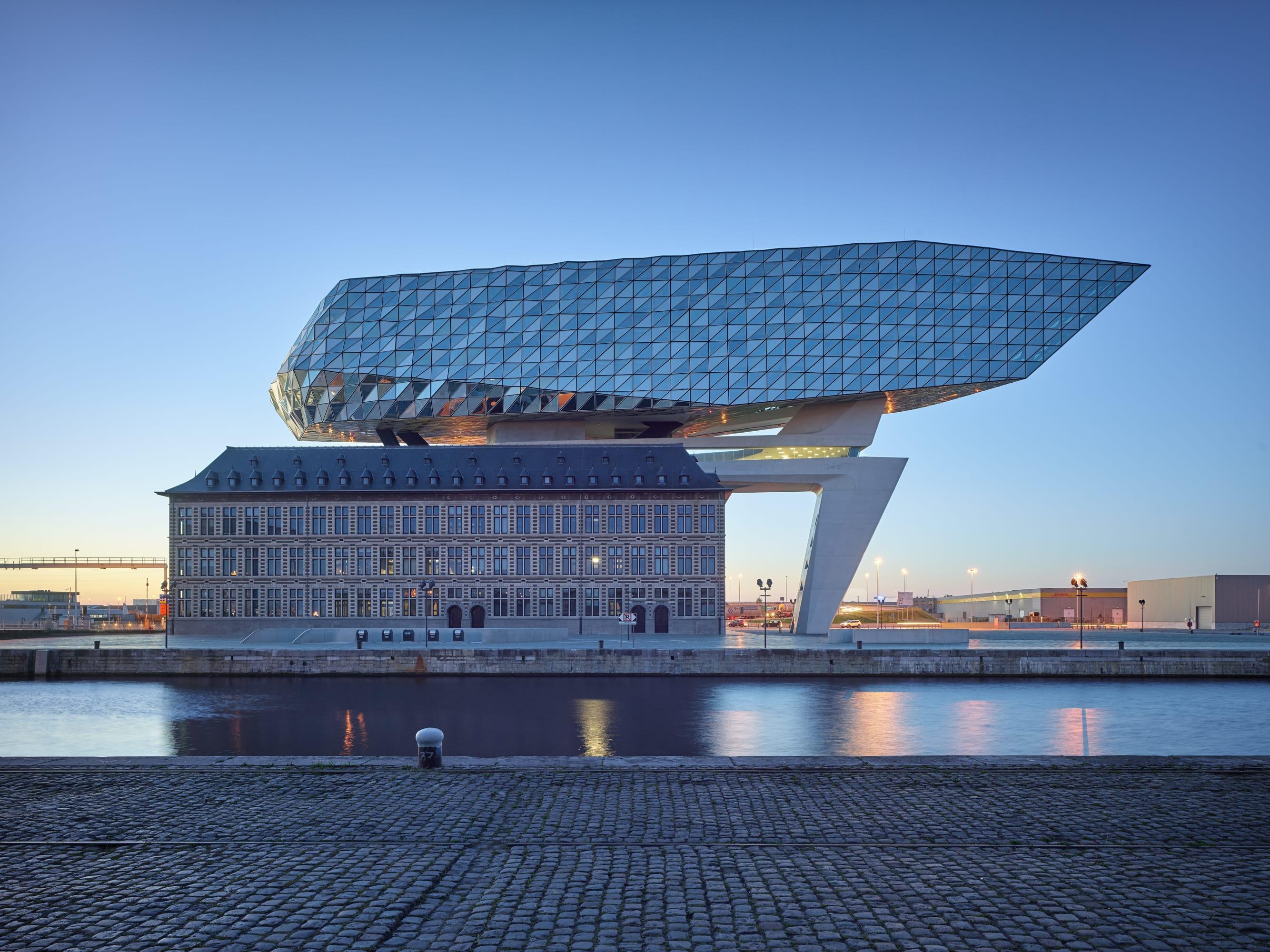 Zaha Hadid Architects Fabrice Fouillet Port House Divisare