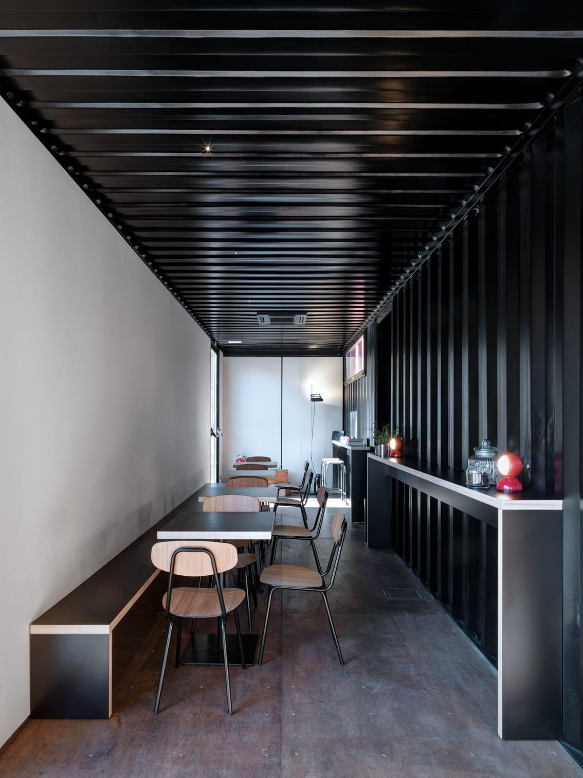 Rocco Borromini Marcello Mariana B1 Container Cafe Divisare