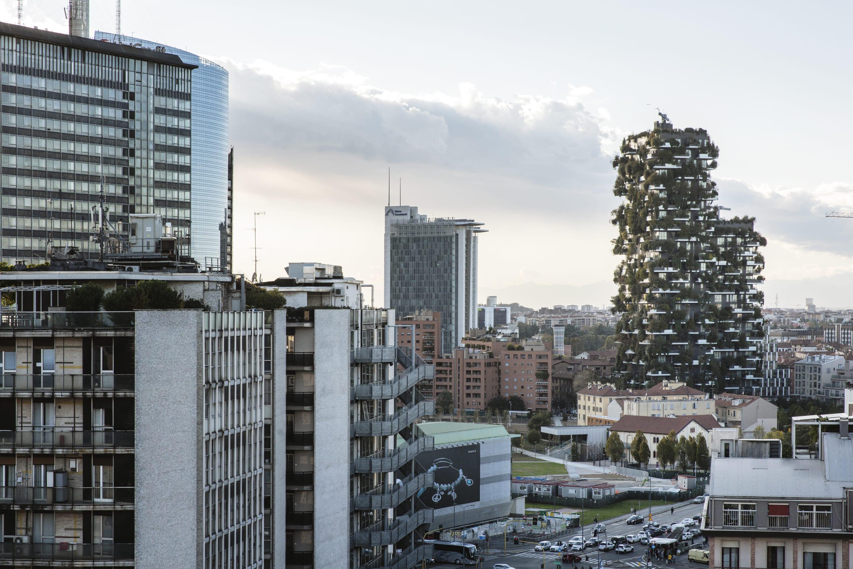 Foto Bosco Verticale Milano stefano boeri architetti, giovanni nardi · bosco verticale