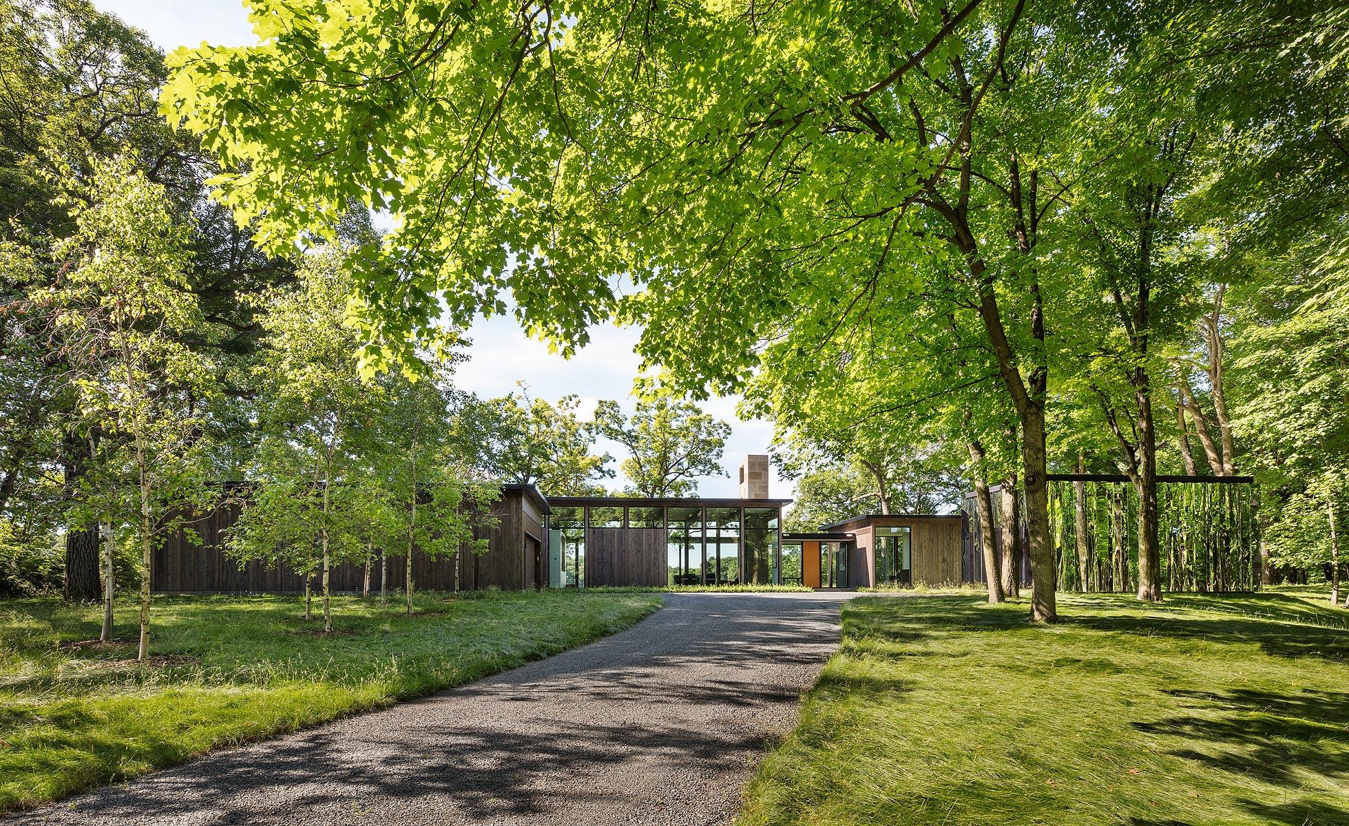 ALTUS Architecture + Design, Paul Crosby · Woodland House