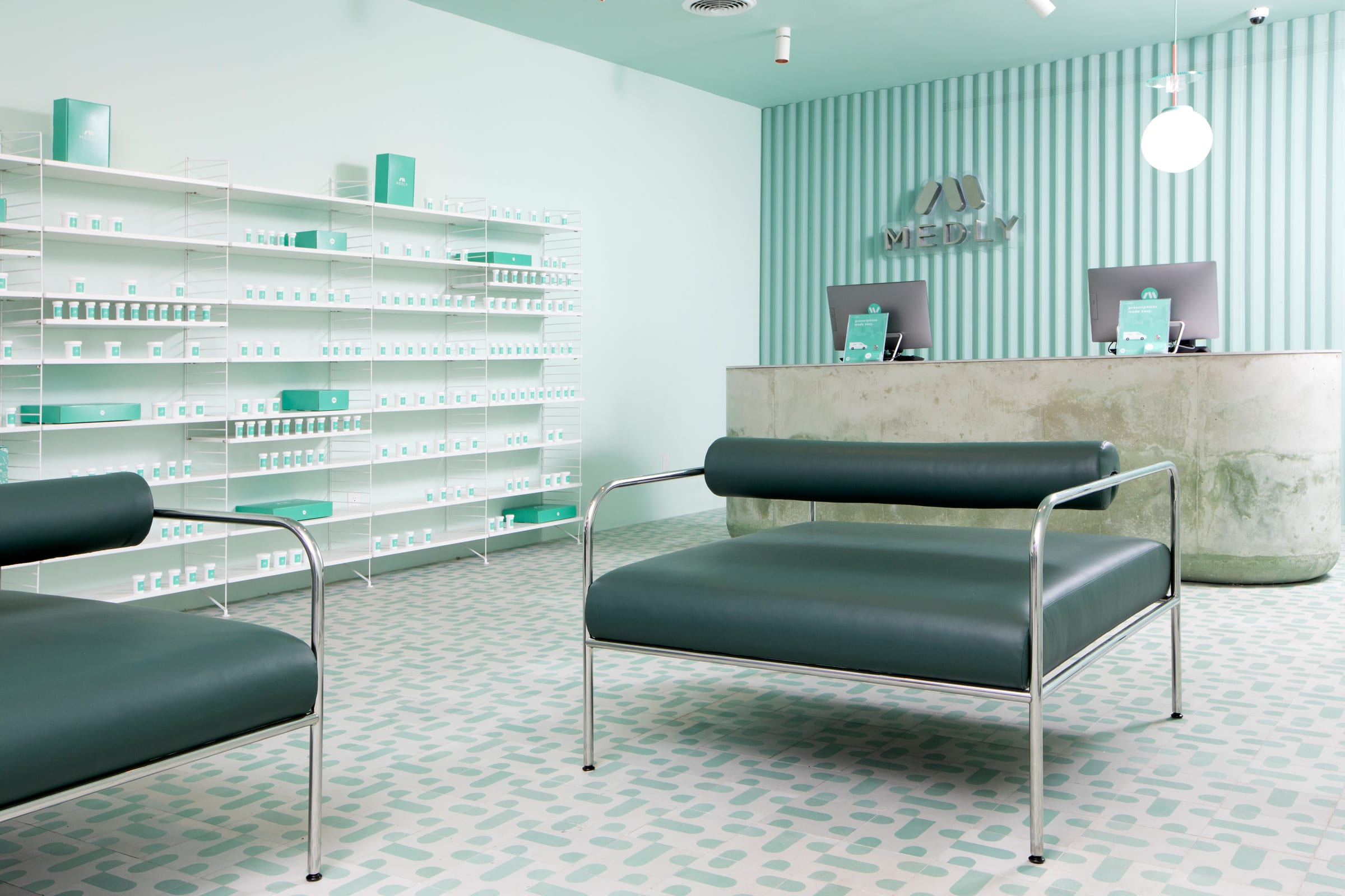 SERGIO MANNINO STUDIO · Medly Pharmacy in New York · Divisare