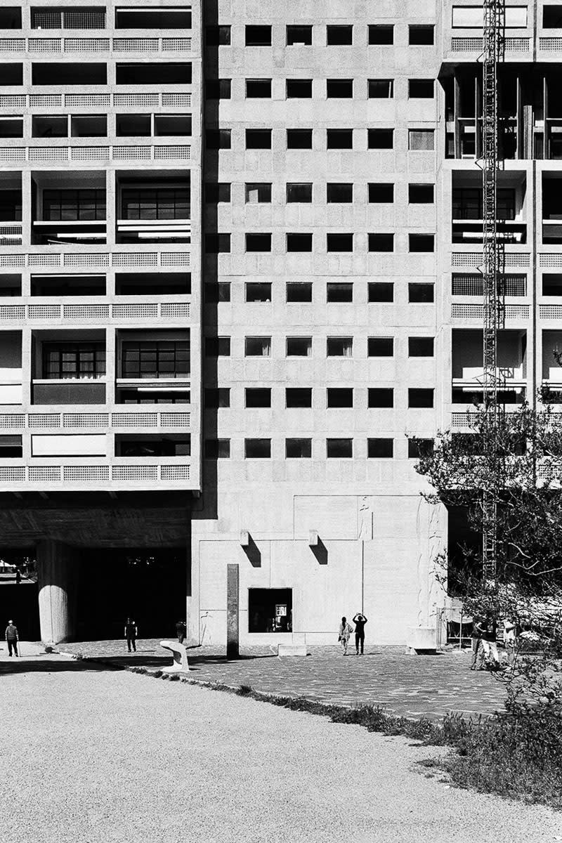 Le Corbusier Unite D Habitation le corbusier, ivo stani · unité d'habitation marseille