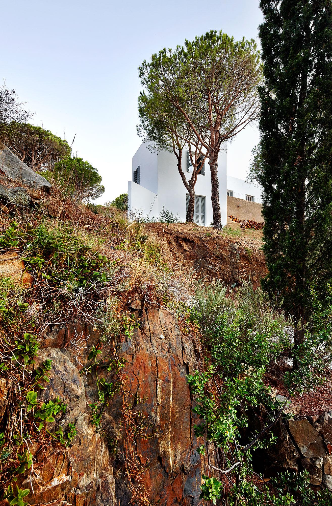 Emiliano Lopez Monica Rivera Arquitectos House In El Port De La