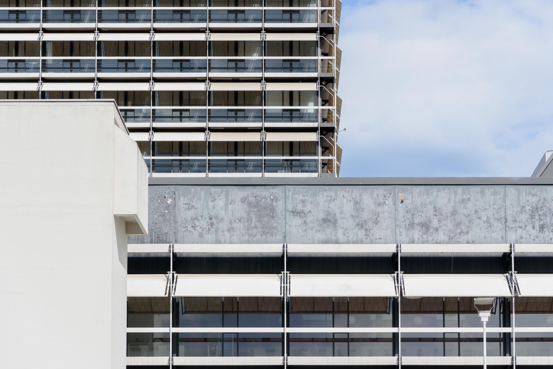 Egon Eiermann, Moritz Bernoully · Olivetti Buildings · Divisare