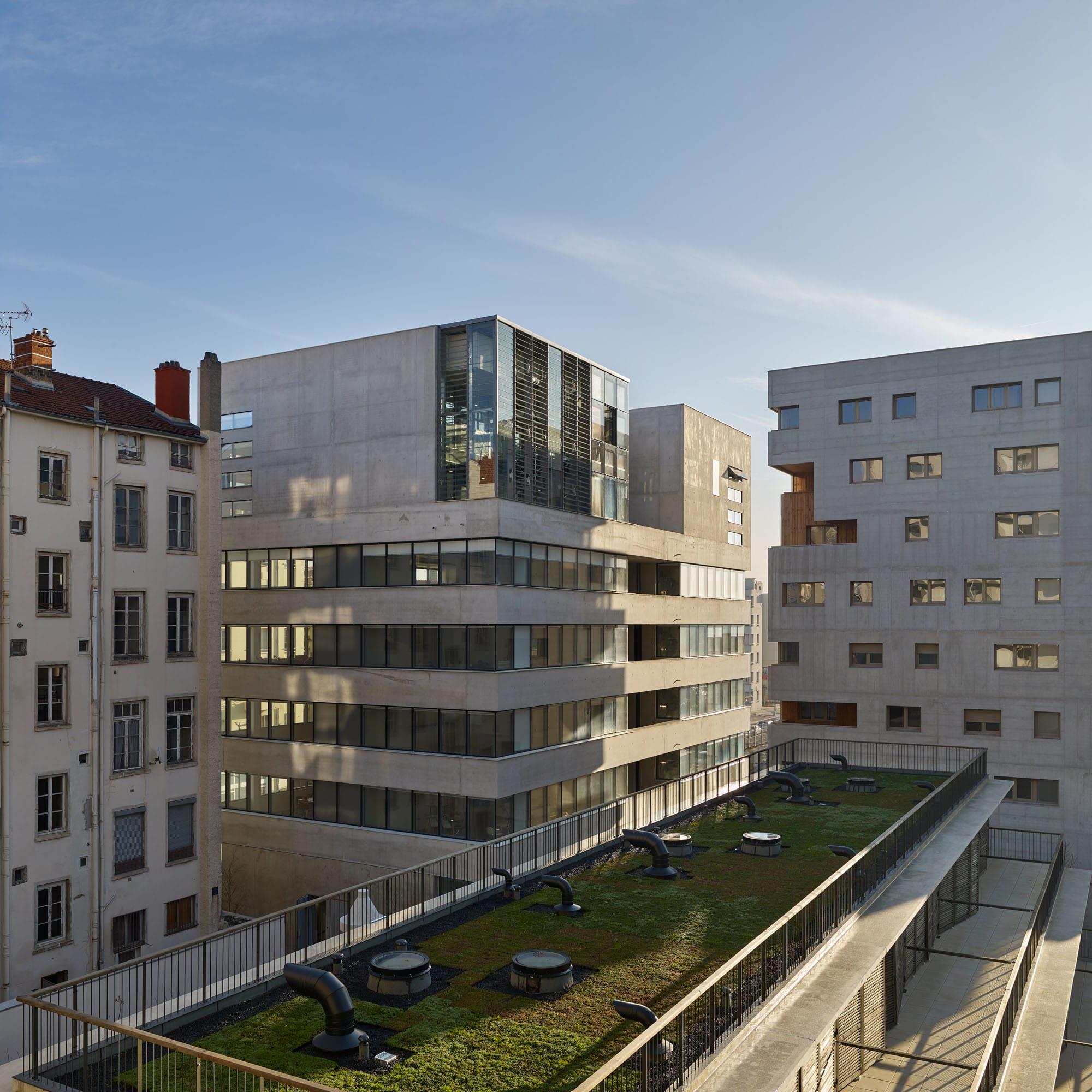 AFAA Architecture, Julien Lanoo, Gilles Aymard, Didier Boy de la Tour,  Maxime Delvaux · UnitY · Divisare