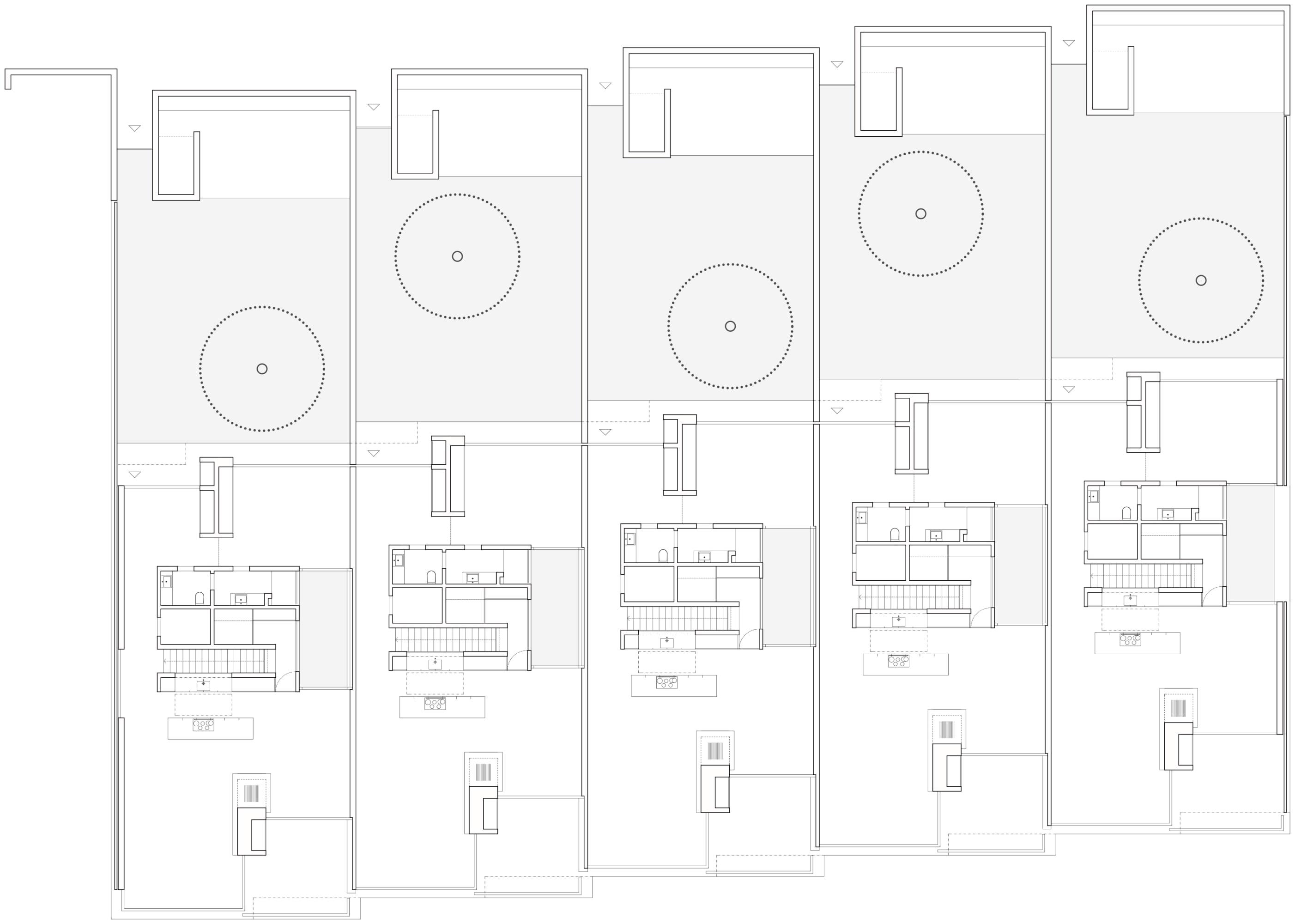 Think Architecture Five Patio Houses Divisare