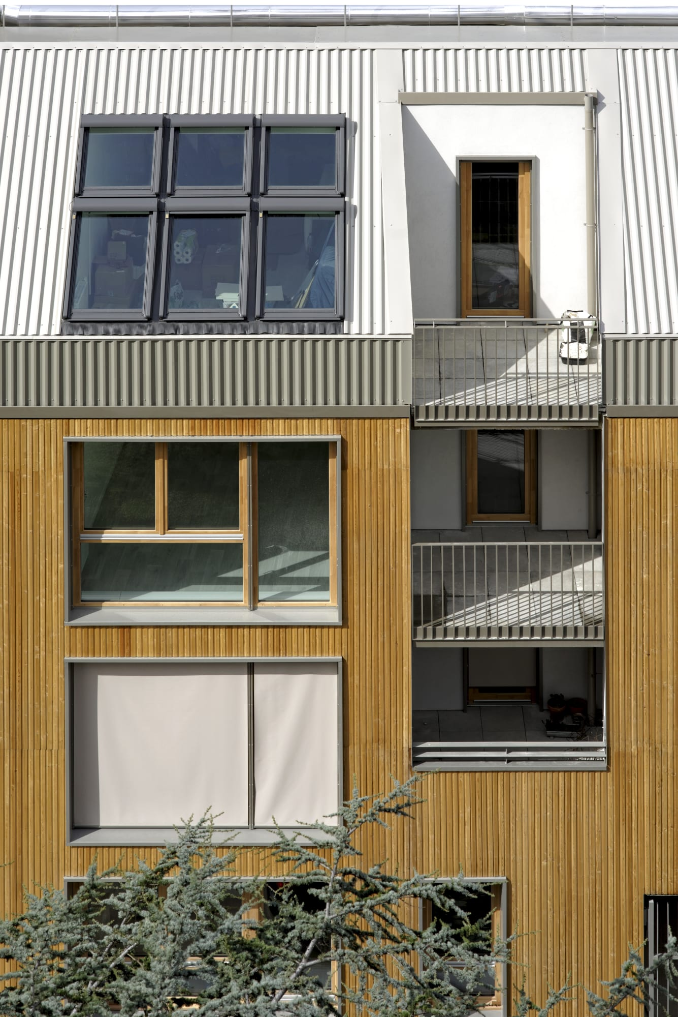 Benjamin Fleury David Boureau 26 Apartments In Montreuil Divisare