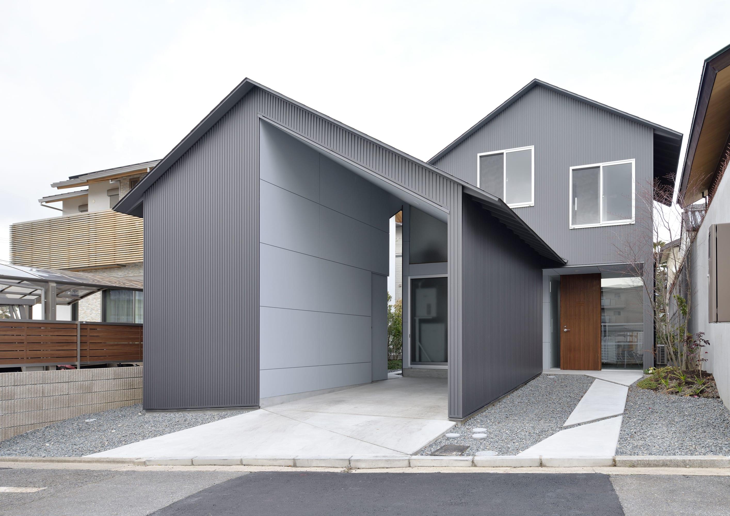Alphaville Architects Yasutake Kondo Gable Roof House Divisare